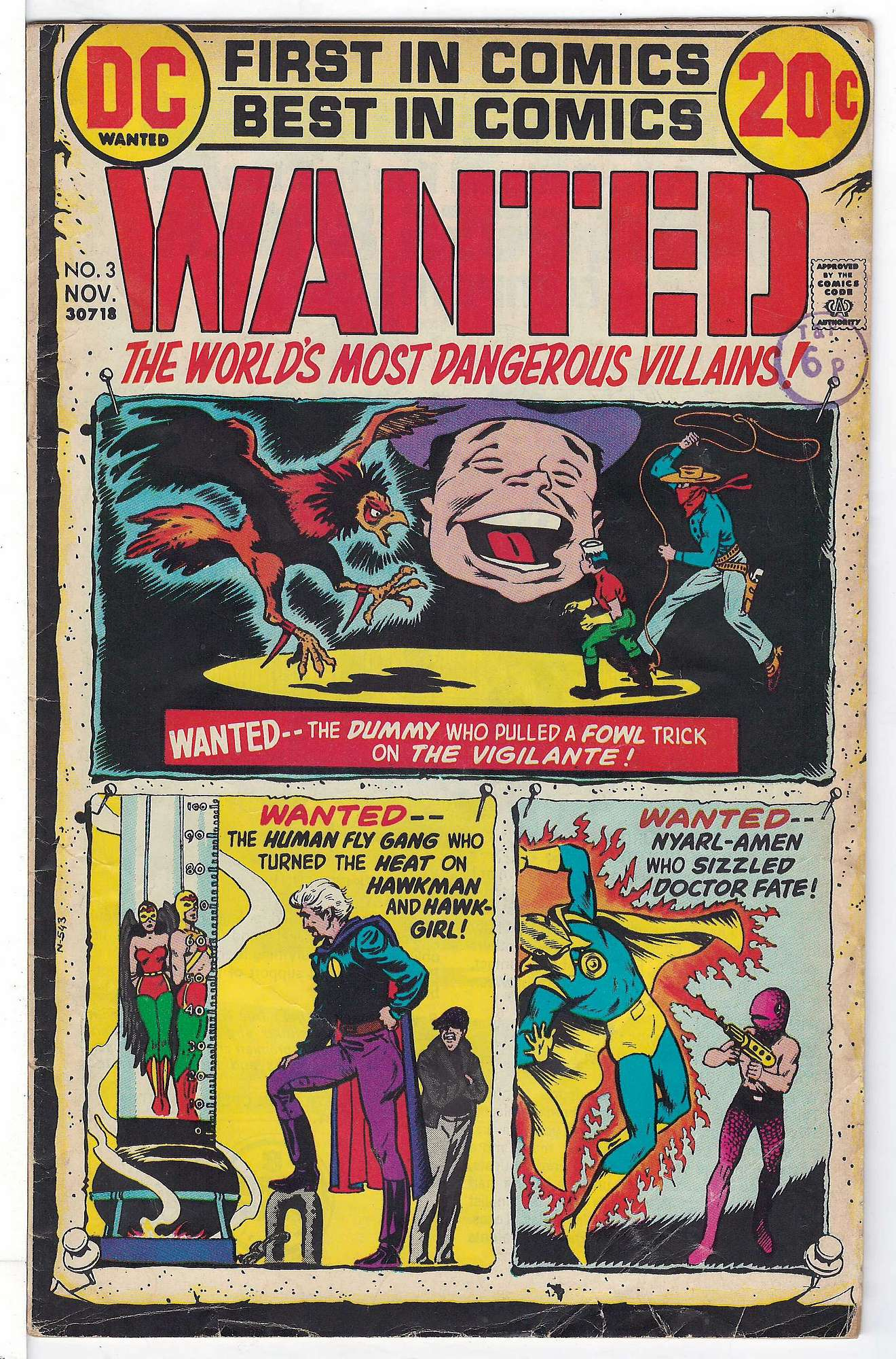 Cover of Wanted: Worlds Most Dangerous Villains (Vol 1) #3. One of 250,000 Vintage American Comics on sale from Krypton!