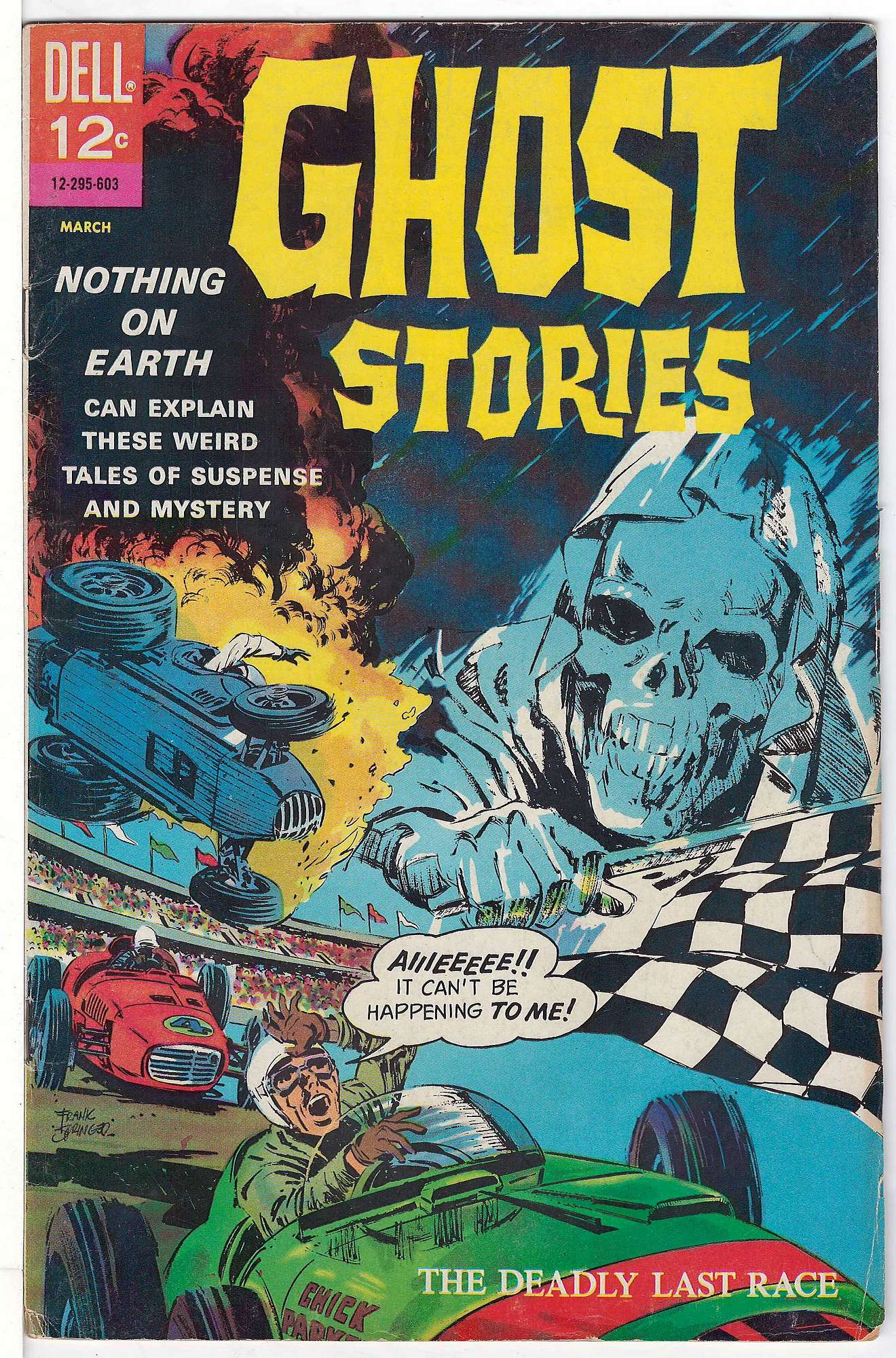 Cover of Ghost Stories (Vol 1) #13. One of 250,000 Vintage American Comics on sale from Krypton!