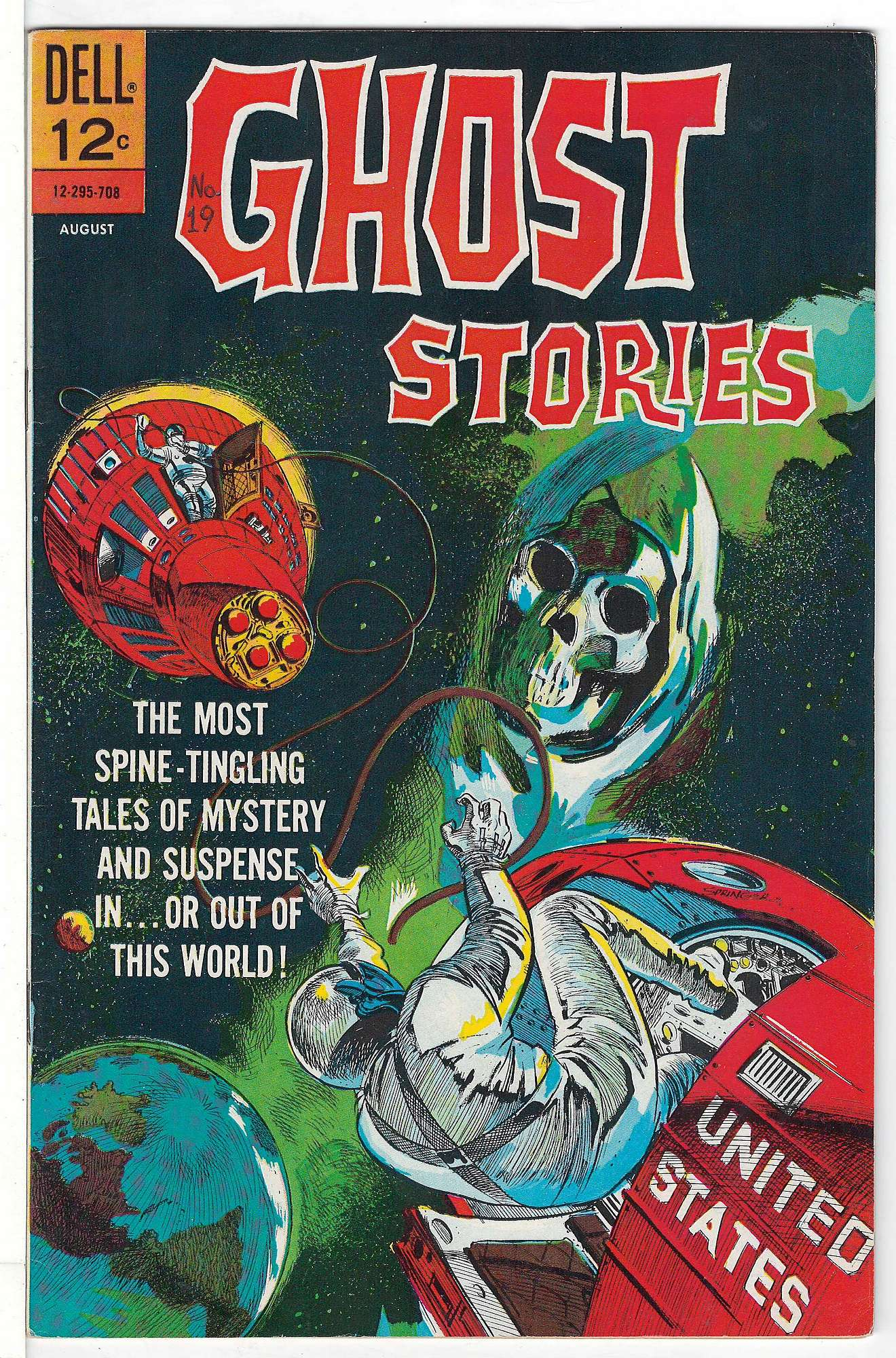 Cover of Ghost Stories (Vol 1) #19. One of 250,000 Vintage American Comics on sale from Krypton!