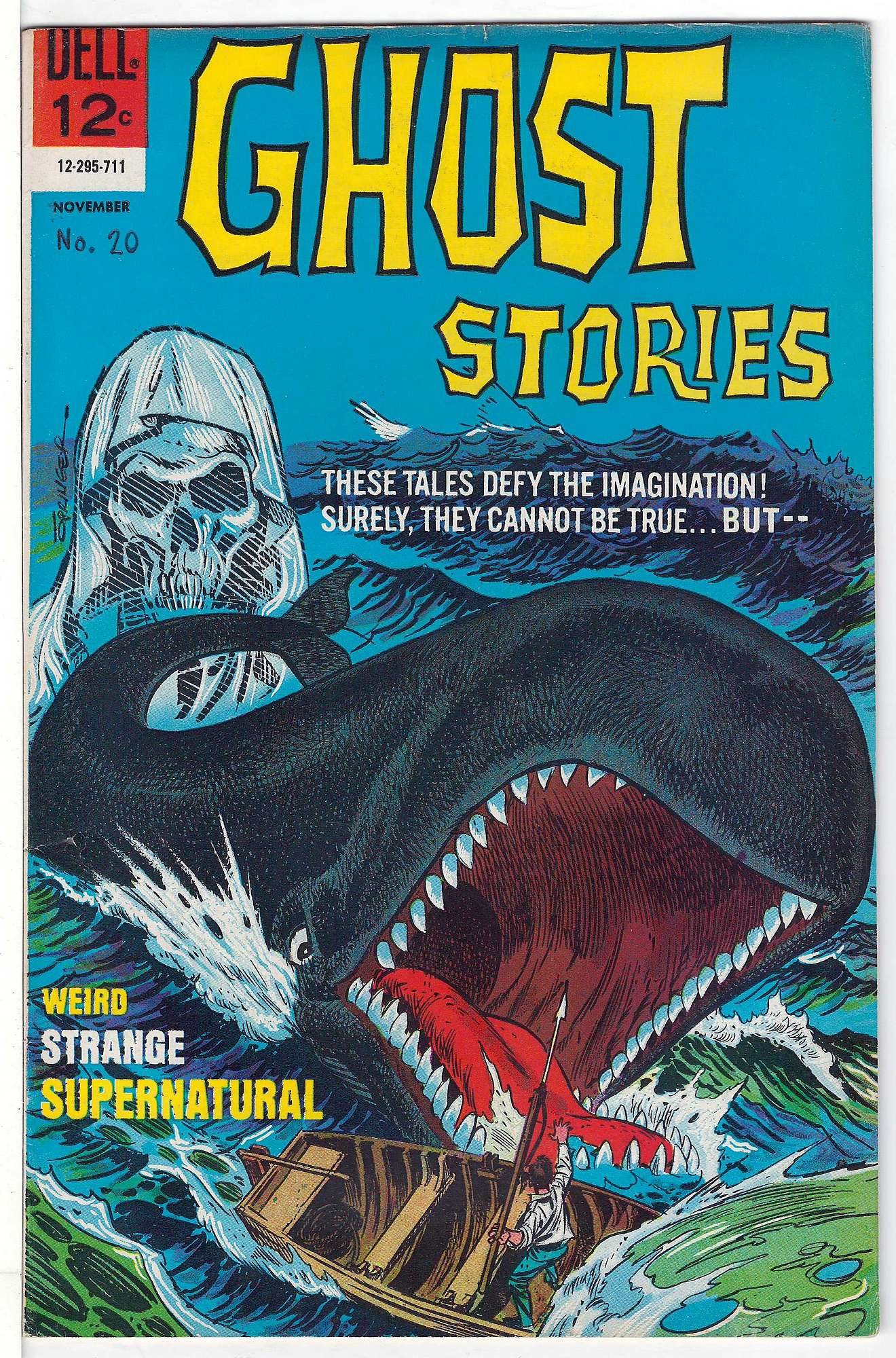Cover of Ghost Stories (Vol 1) #20. One of 250,000 Vintage American Comics on sale from Krypton!