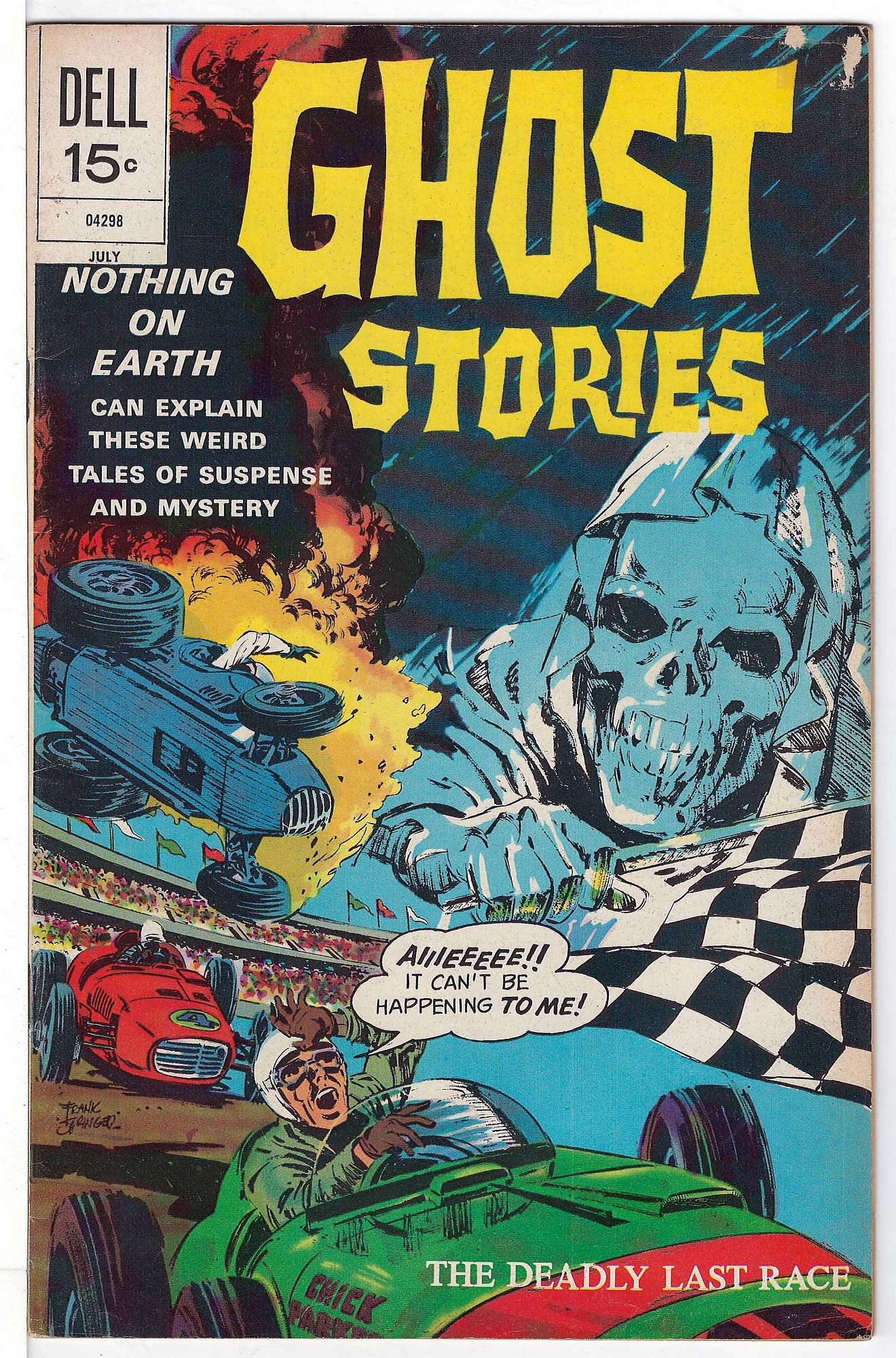 Cover of Ghost Stories (Vol 1) #33. One of 250,000 Vintage American Comics on sale from Krypton!