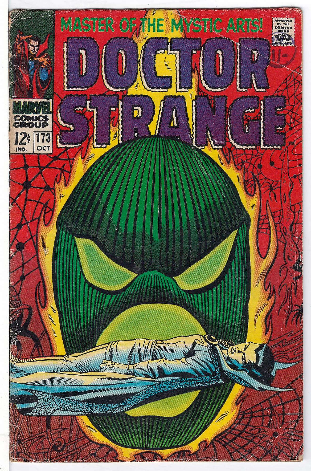 Cover of Doctor Strange (Vol 1) #173. One of 250,000 Vintage American Comics on sale from Krypton!