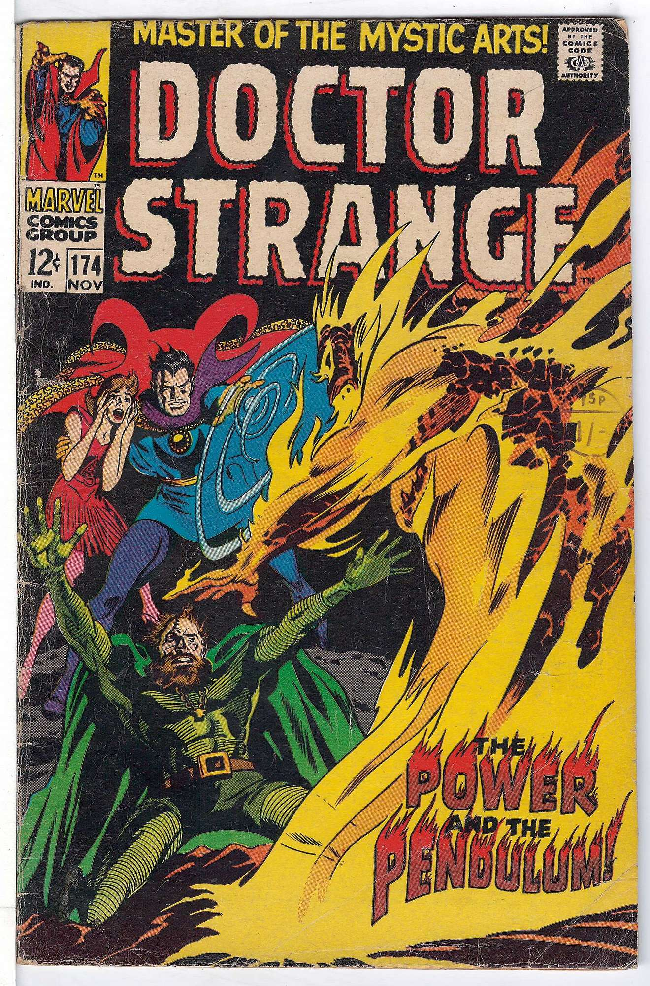 Cover of Doctor Strange (Vol 1) #174. One of 250,000 Vintage American Comics on sale from Krypton!