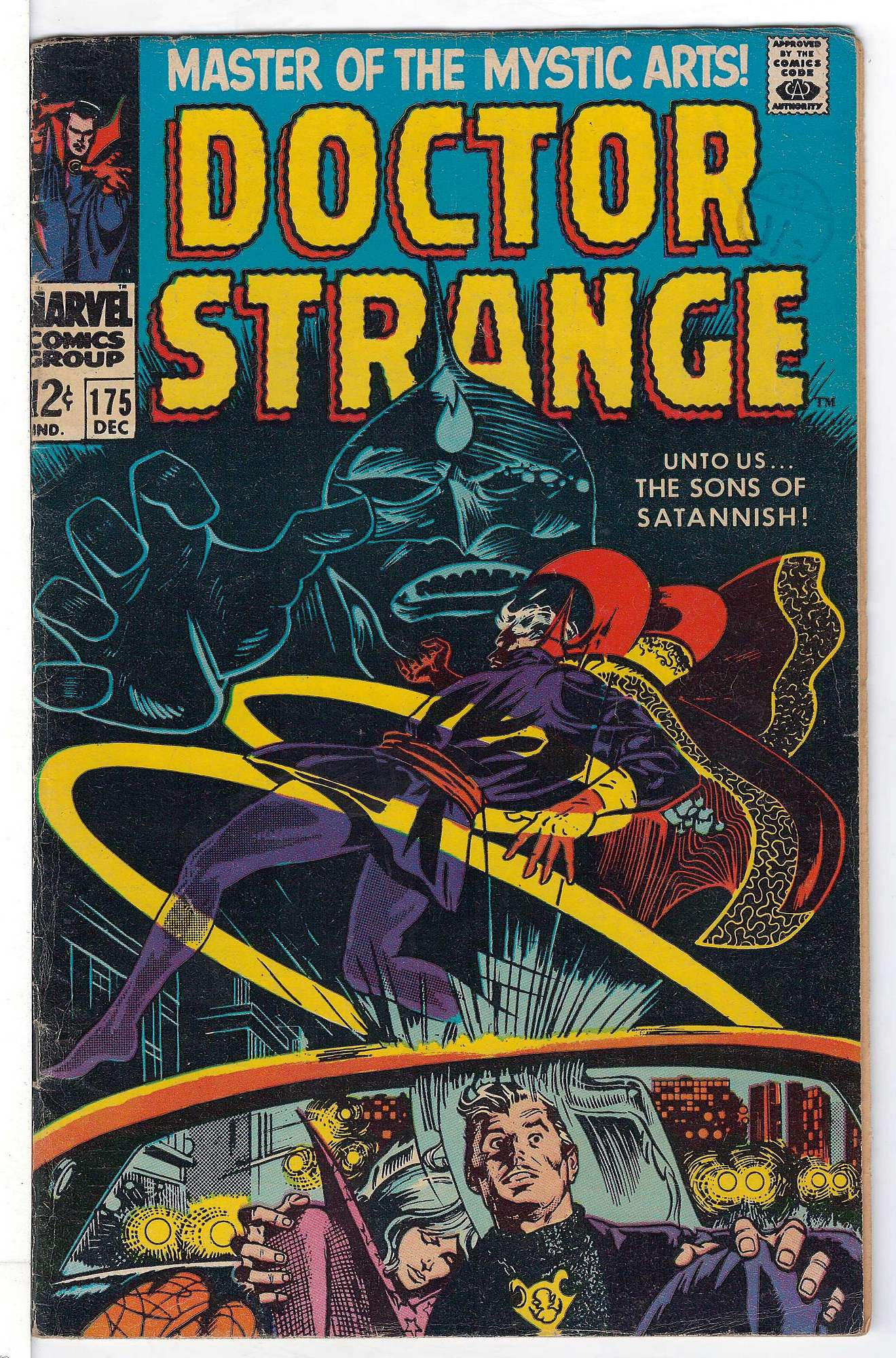 Cover of Doctor Strange (Vol 1) #175. One of 250,000 Vintage American Comics on sale from Krypton!