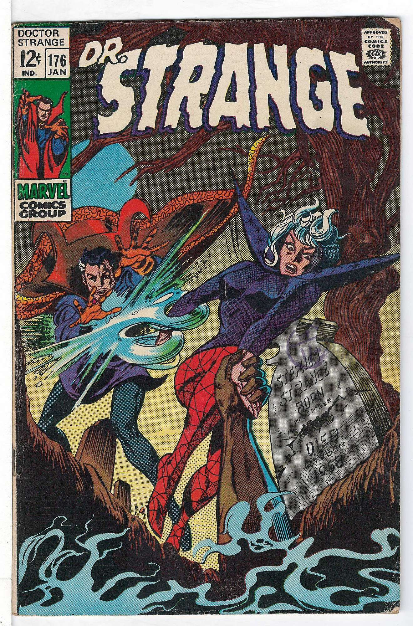Cover of Doctor Strange (Vol 1) #176. One of 250,000 Vintage American Comics on sale from Krypton!