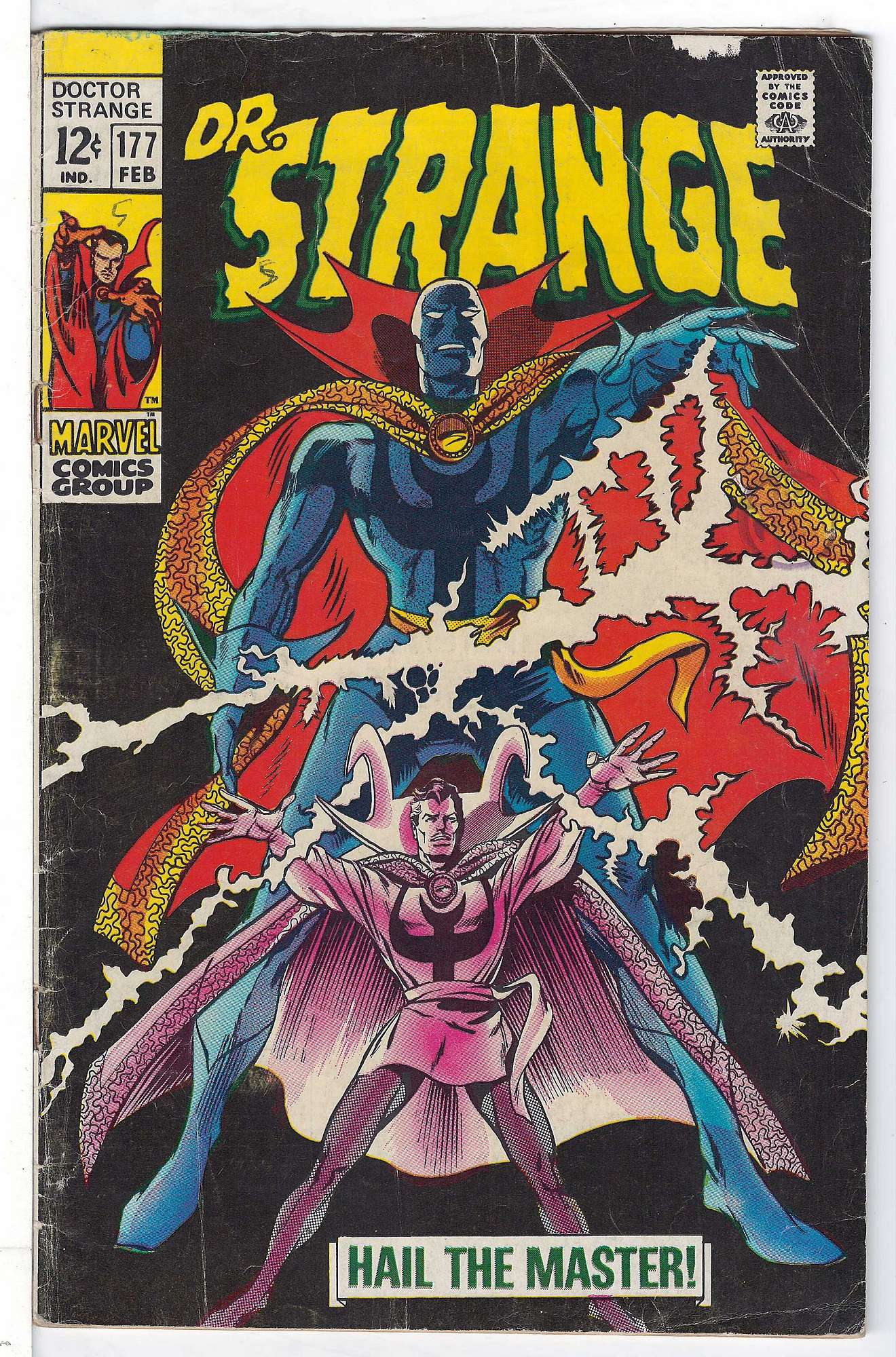 Cover of Doctor Strange (Vol 1) #177. One of 250,000 Vintage American Comics on sale from Krypton!