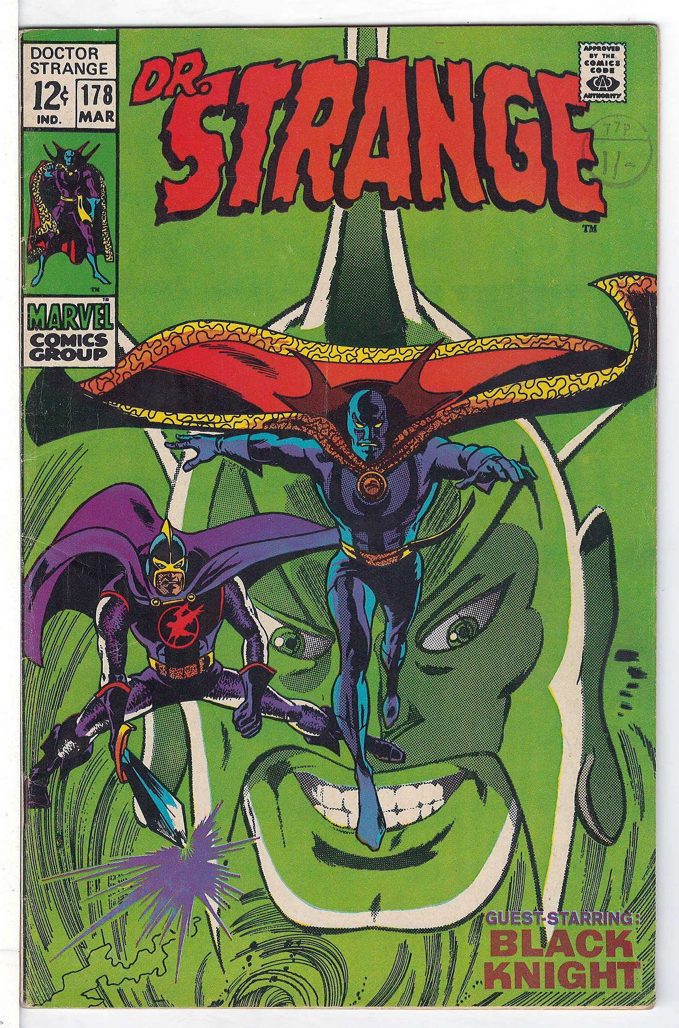 Cover of Doctor Strange (Vol 1) #178. One of 250,000 Vintage American Comics on sale from Krypton!