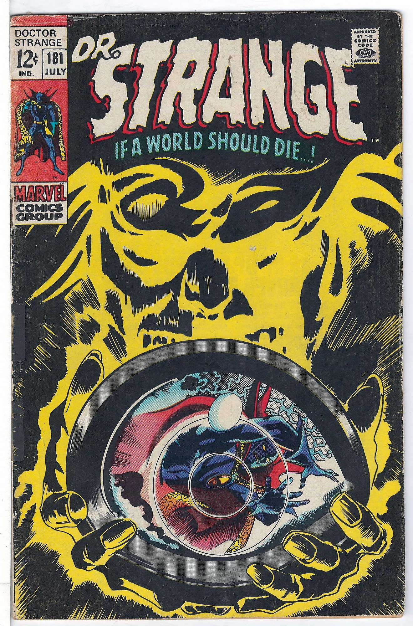 Cover of Doctor Strange (Vol 1) #181. One of 250,000 Vintage American Comics on sale from Krypton!