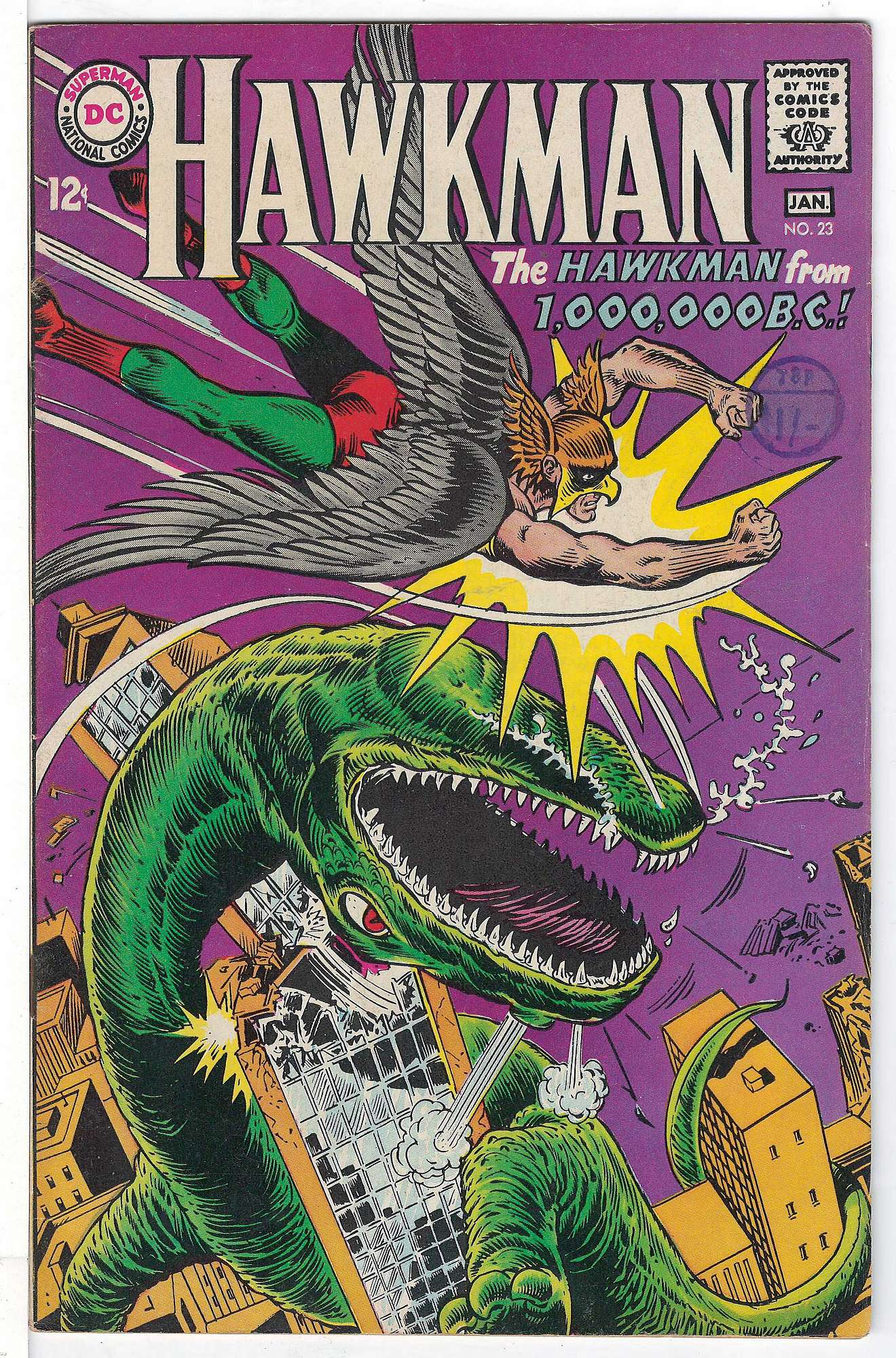 Cover of Hawkman (Vol 1) #23. One of 250,000 Vintage American Comics on sale from Krypton!