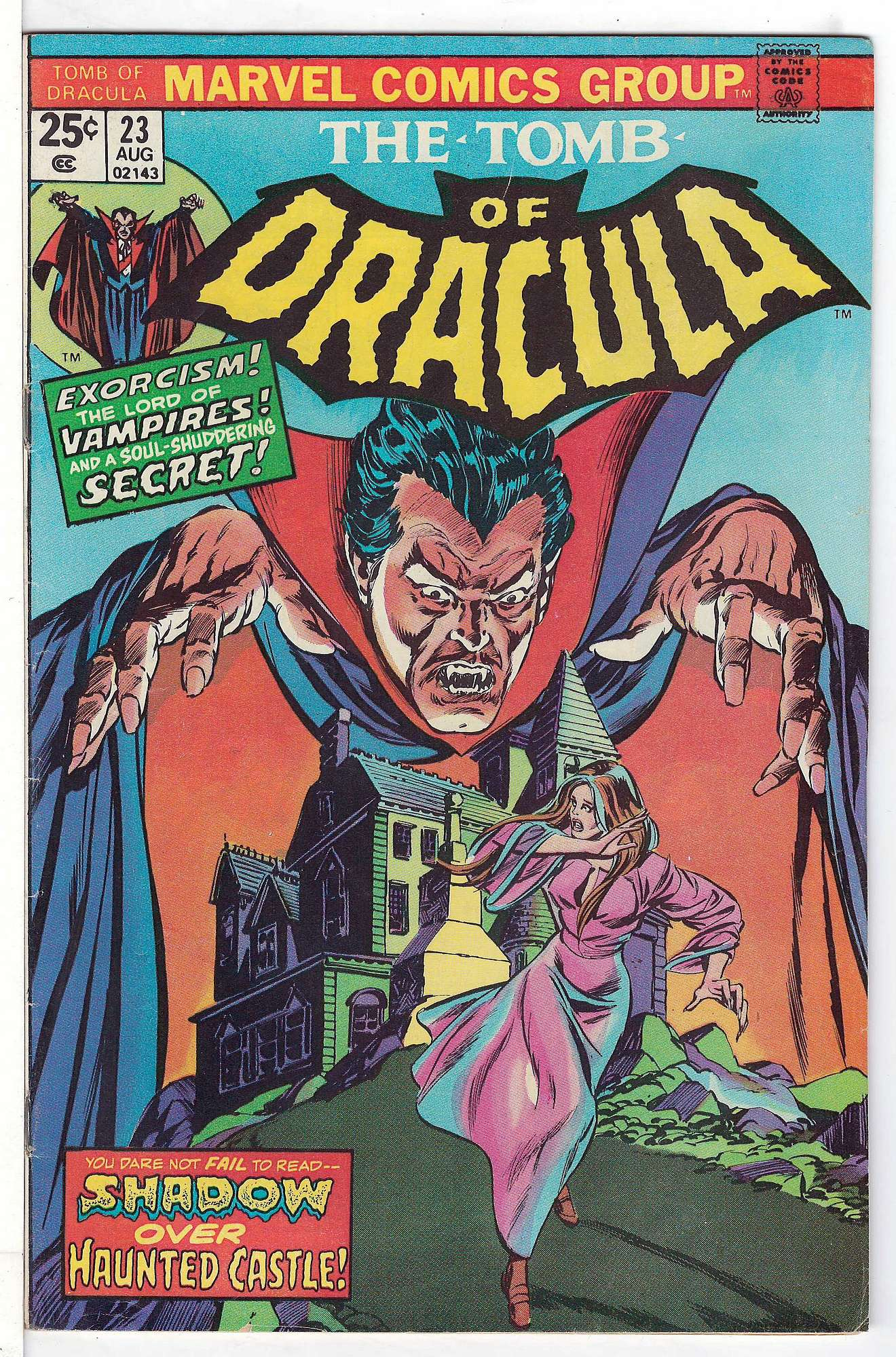 Cover of Tomb of Dracula (Vol 1) #23. One of 250,000 Vintage American Comics on sale from Krypton!