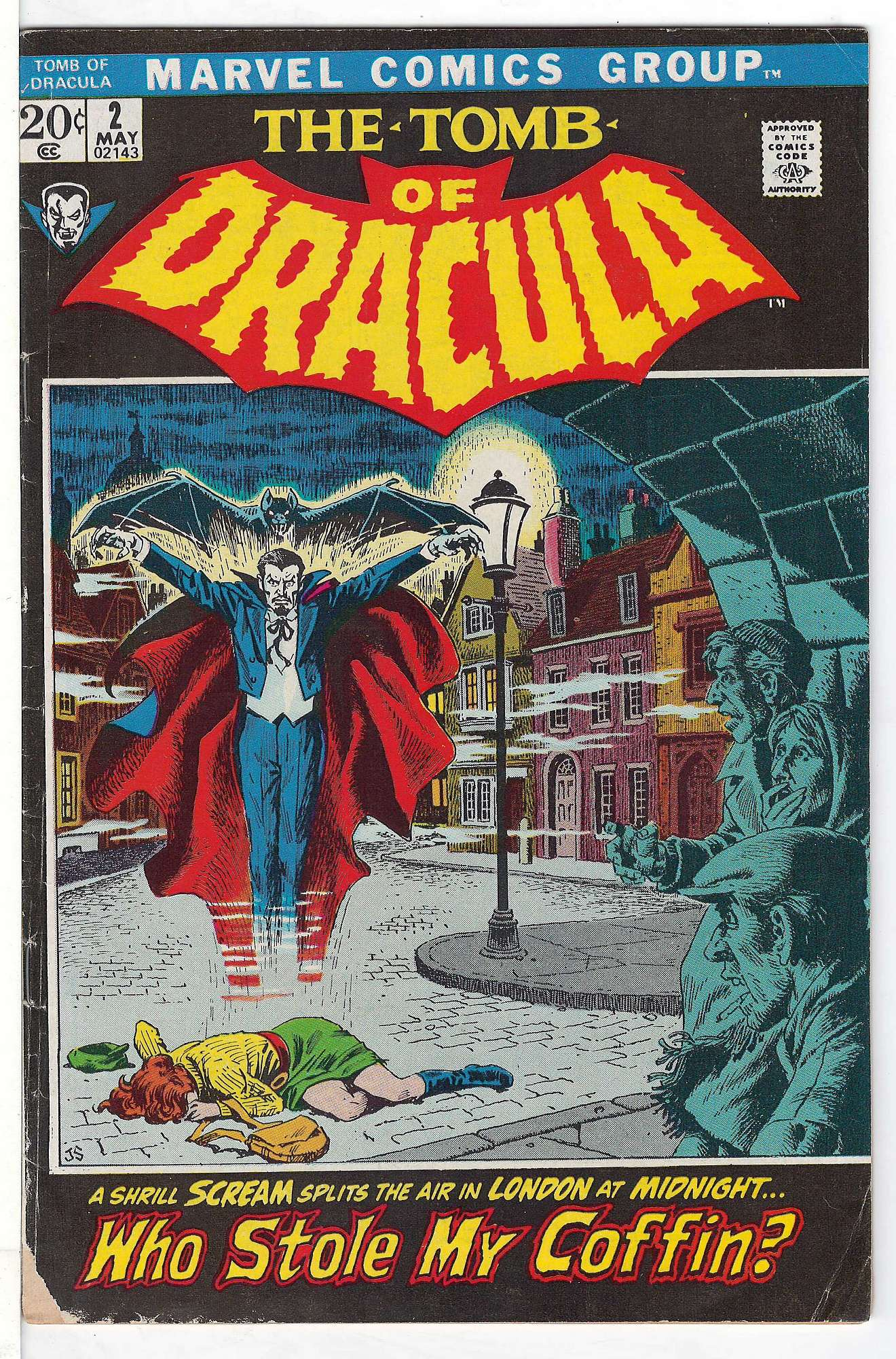 Cover of Tomb of Dracula (Vol 1) #2. One of 250,000 Vintage American Comics on sale from Krypton!