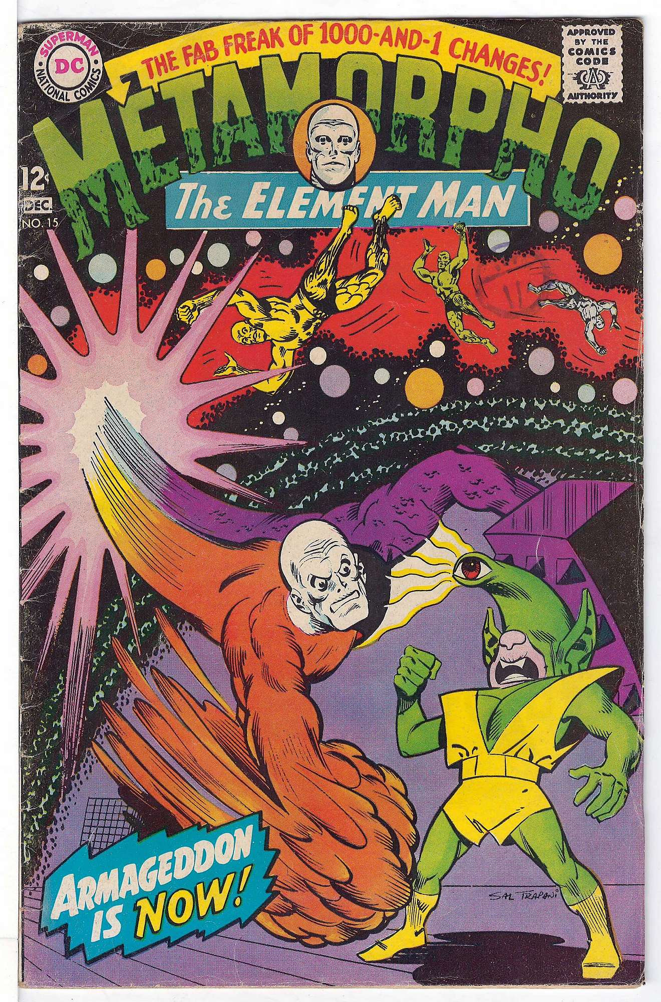 Cover of Metamorpho (Vol 1) #15. One of 250,000 Vintage American Comics on sale from Krypton!