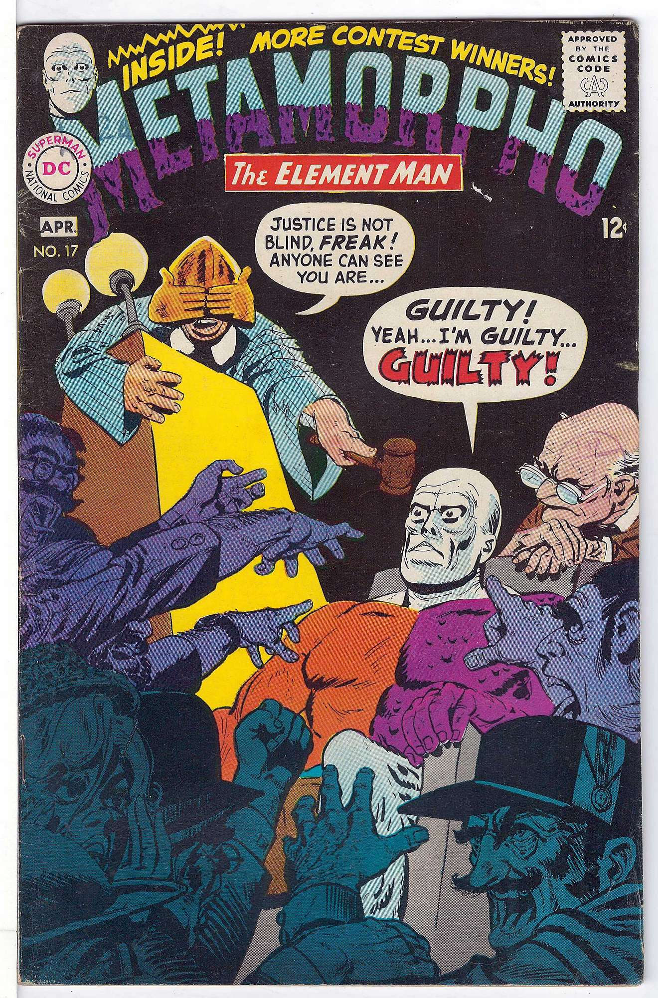 Cover of Metamorpho (Vol 1) #17. One of 250,000 Vintage American Comics on sale from Krypton!
