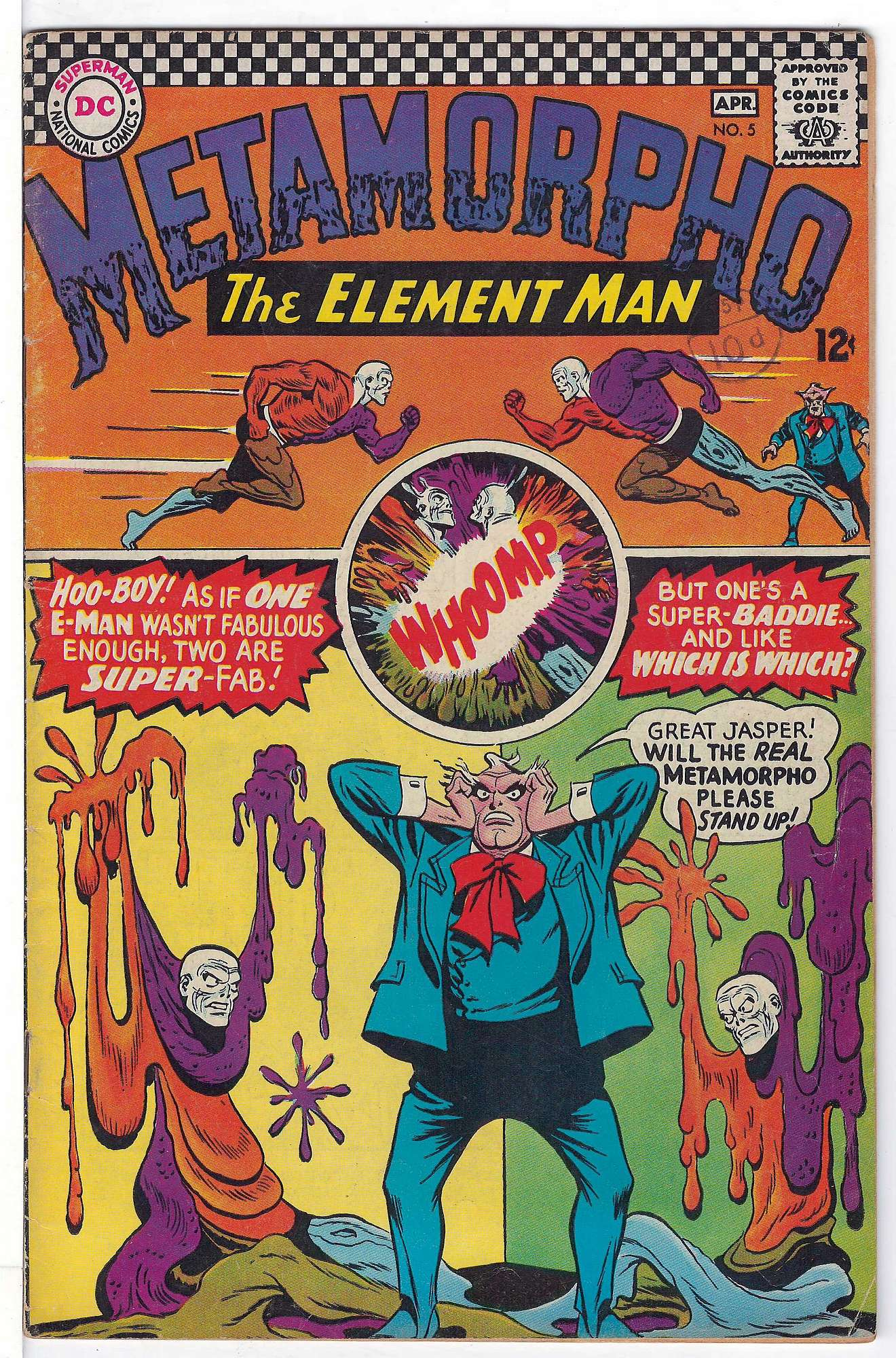 Cover of Metamorpho (Vol 1) #5. One of 250,000 Vintage American Comics on sale from Krypton!
