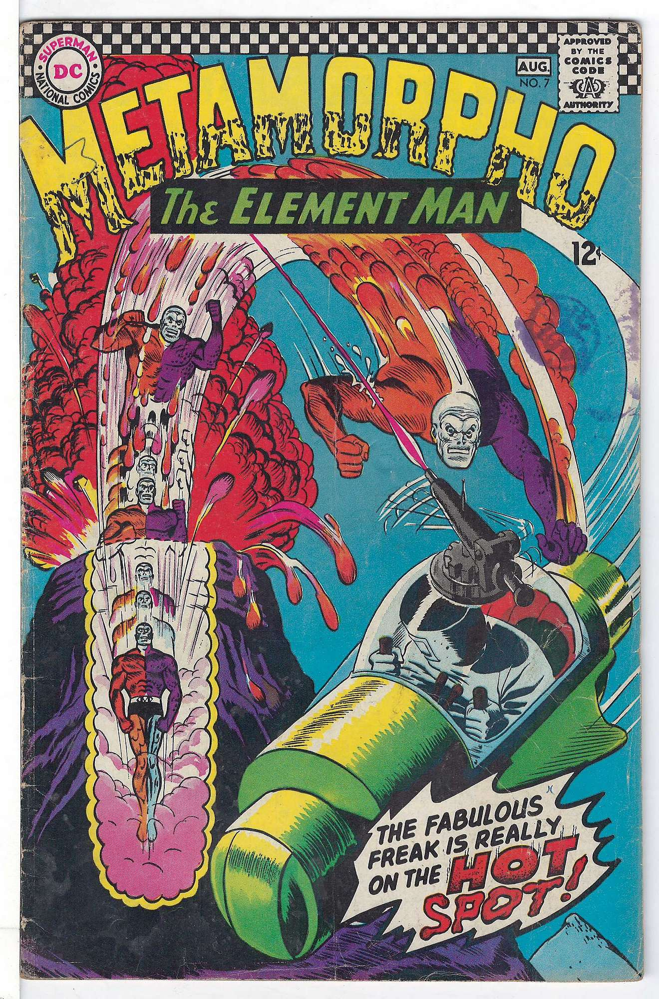 Cover of Metamorpho (Vol 1) #7. One of 250,000 Vintage American Comics on sale from Krypton!
