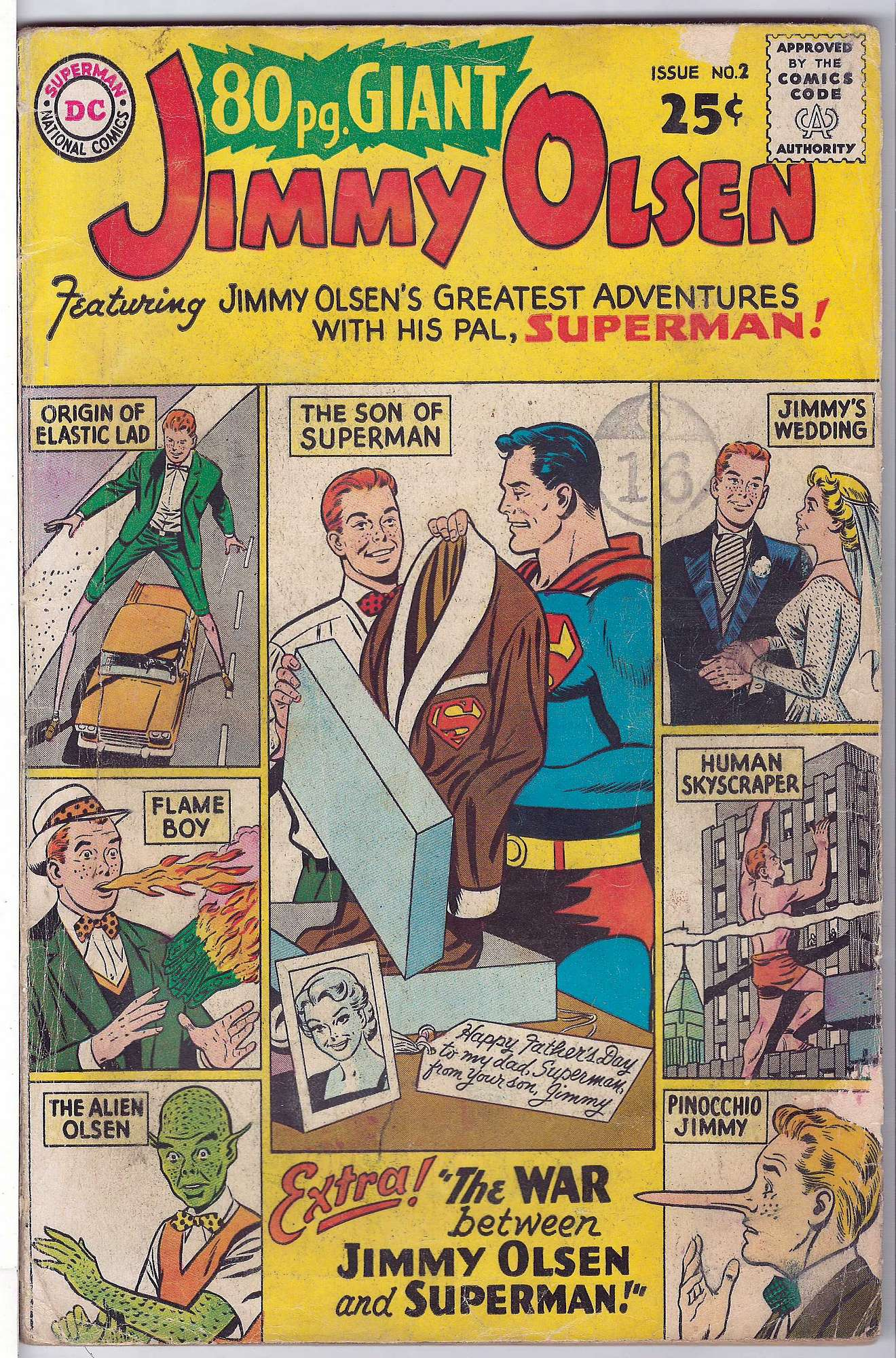 Cover of Eighty Page Giant (Vol 1) #2. One of 250,000 Vintage American Comics on sale from Krypton!