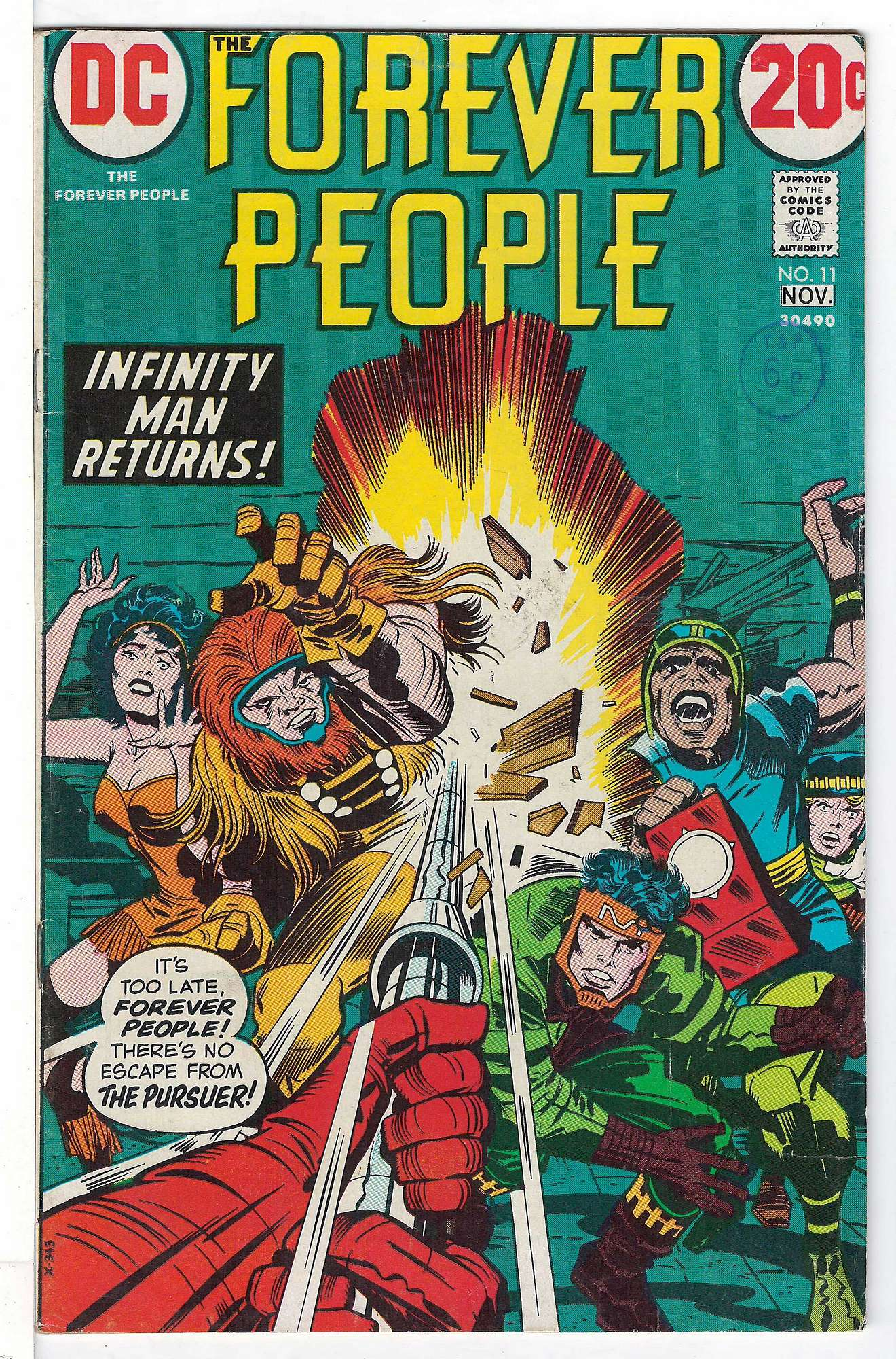 Cover of Forever People (Vol 1) The #11. One of 250,000 Vintage American Comics on sale from Krypton!