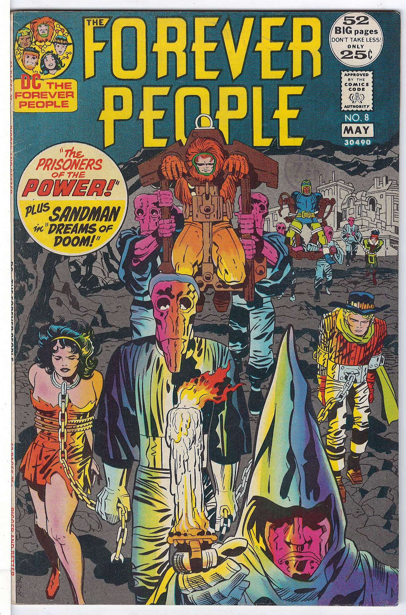 Cover of Forever People (Vol 1) The #8. One of 250,000 Vintage American Comics on sale from Krypton!