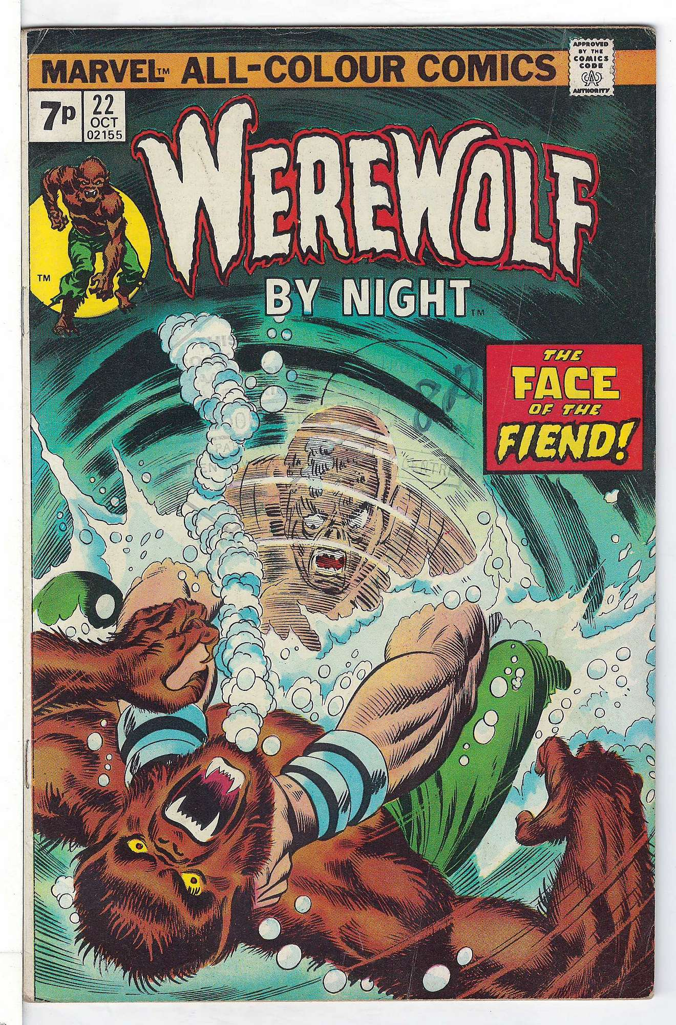 Cover of Werewolf by Night (Vol 1) #22. One of 250,000 Vintage American Comics on sale from Krypton!