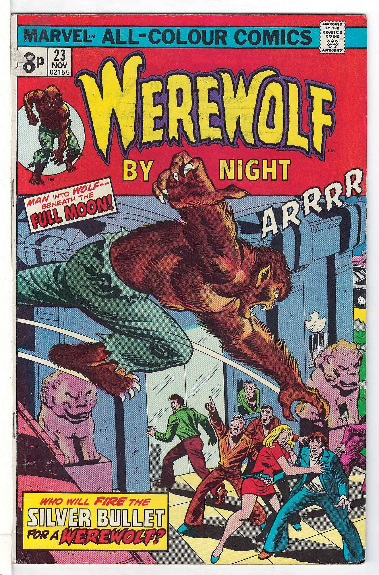 Cover of Werewolf by Night (Vol 1) #23. One of 250,000 Vintage American Comics on sale from Krypton!