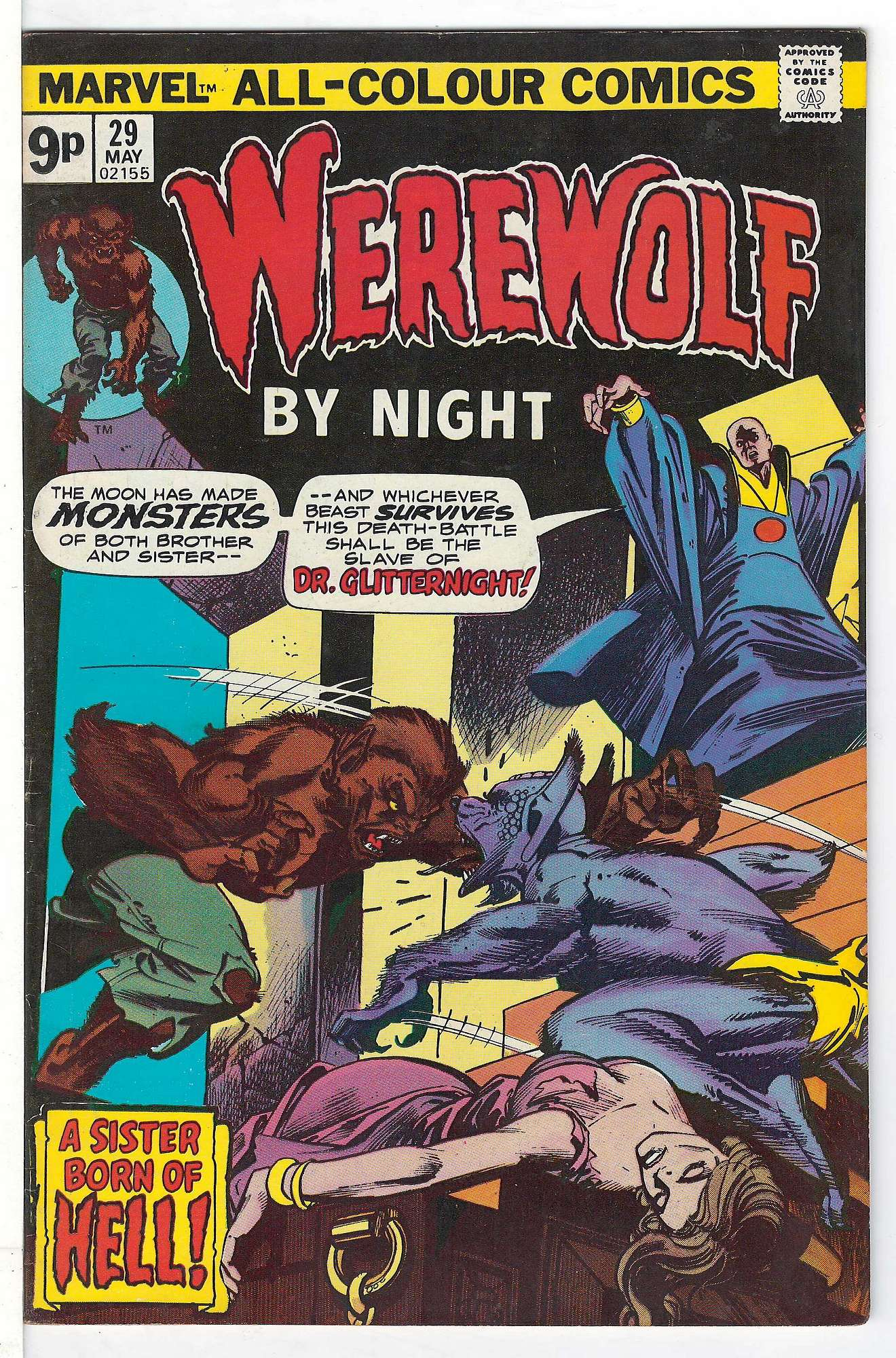 Cover of Werewolf by Night (Vol 1) #29. One of 250,000 Vintage American Comics on sale from Krypton!