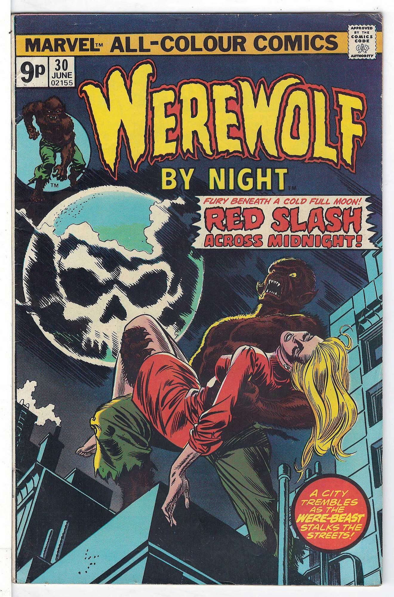 Cover of Werewolf by Night (Vol 1) #30. One of 250,000 Vintage American Comics on sale from Krypton!