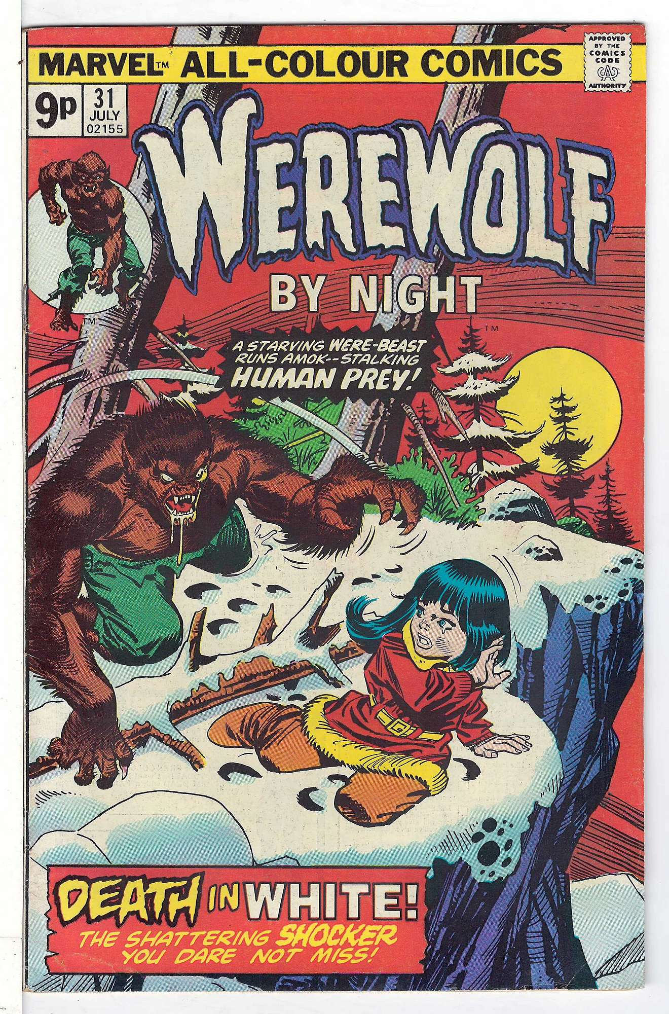 Cover of Werewolf by Night (Vol 1) #31. One of 250,000 Vintage American Comics on sale from Krypton!