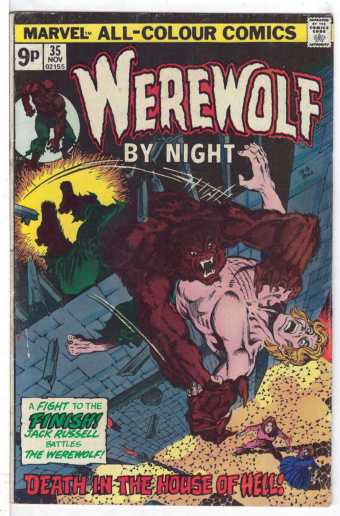 Cover of Werewolf by Night (Vol 1) #35. One of 250,000 Vintage American Comics on sale from Krypton!