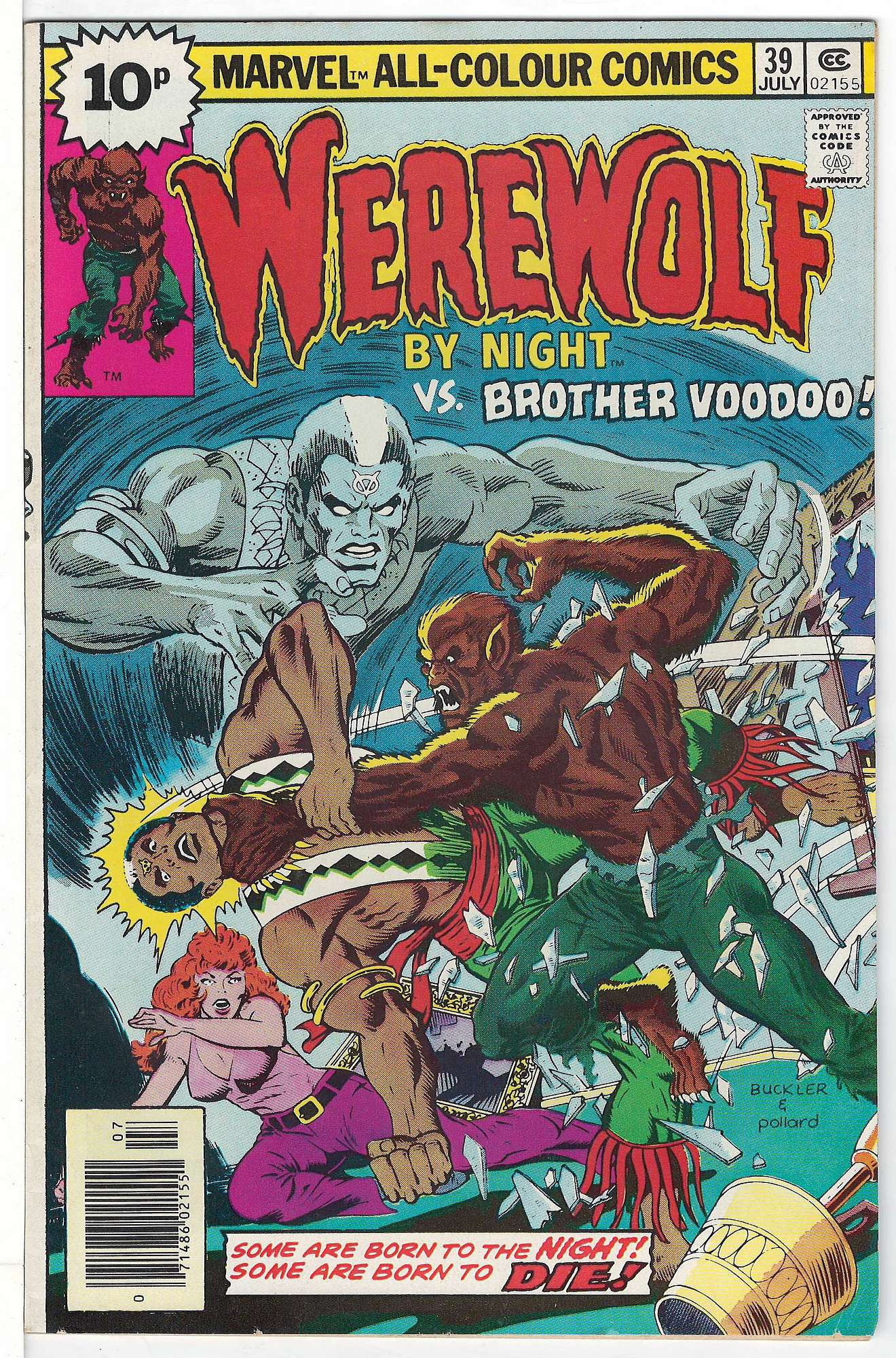 Cover of Werewolf by Night (Vol 1) #39. One of 250,000 Vintage American Comics on sale from Krypton!