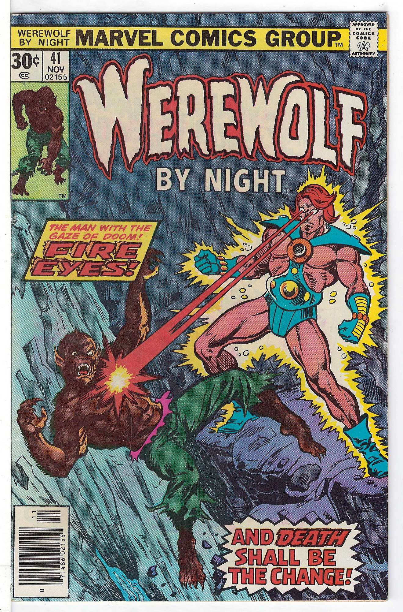 Cover of Werewolf by Night (Vol 1) #41. One of 250,000 Vintage American Comics on sale from Krypton!