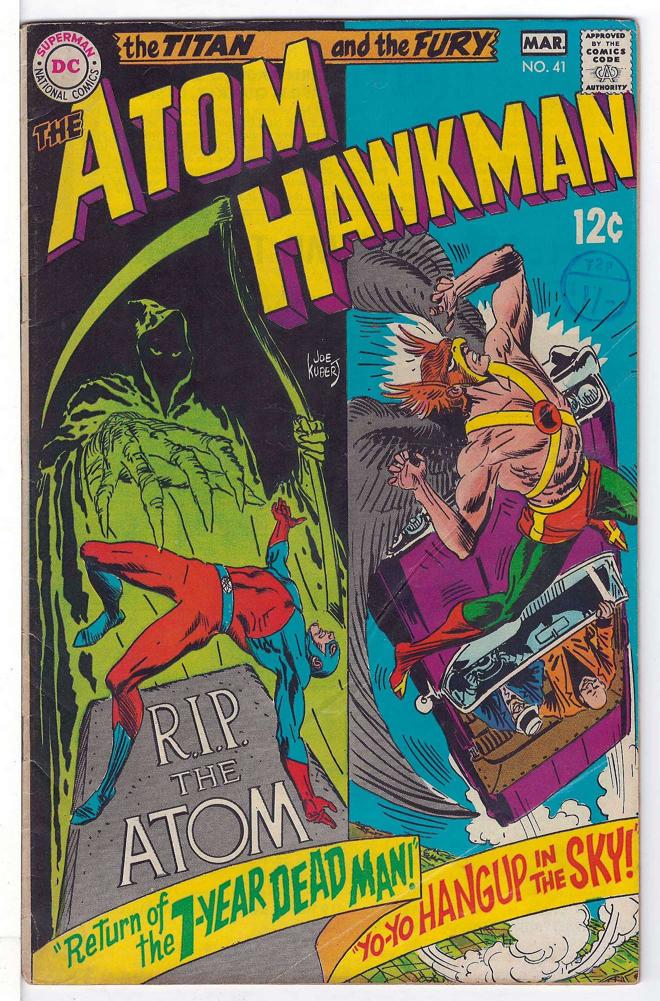 Cover of Atom (Vol 1) The #41. One of 250,000 Vintage American Comics on sale from Krypton!