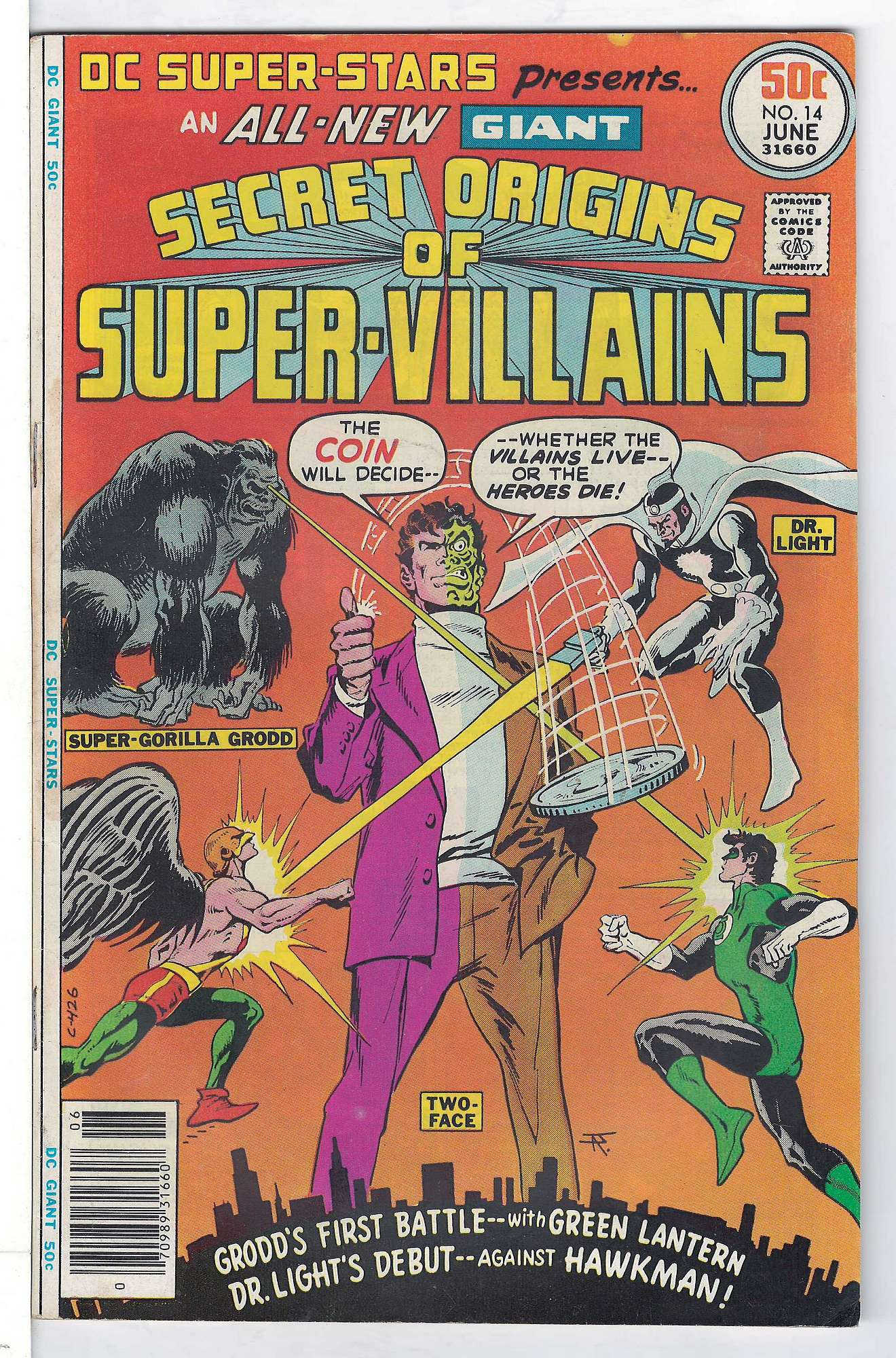 Cover of DC Super-Stars (Vol 1) #14. One of 250,000 Vintage American Comics on sale from Krypton!
