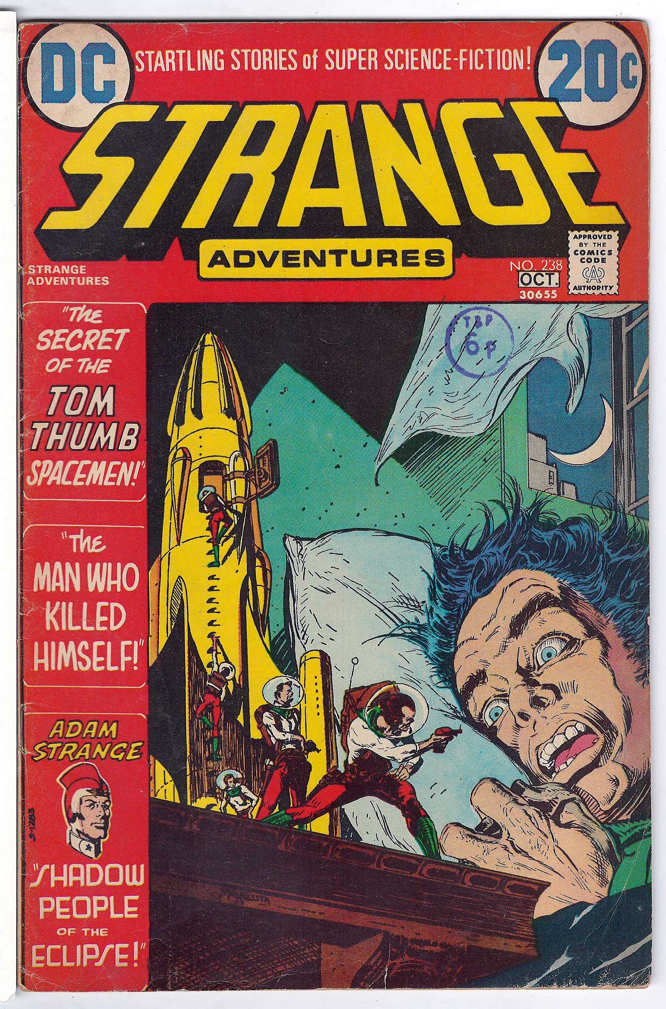 Cover of Strange Adventures (Vol 1) #238. One of 250,000 Vintage American Comics on sale from Krypton!