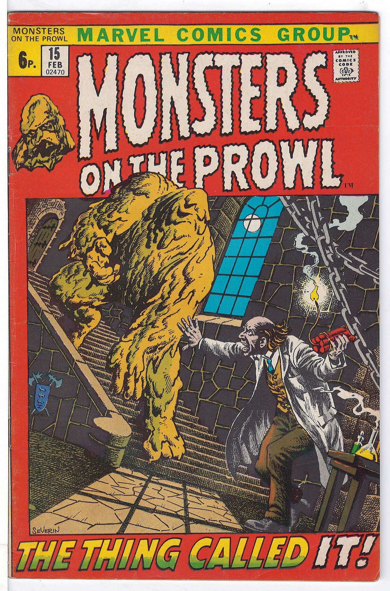 Cover of Monsters on the Prowl (Vol 1) #15. One of 250,000 Vintage American Comics on sale from Krypton!