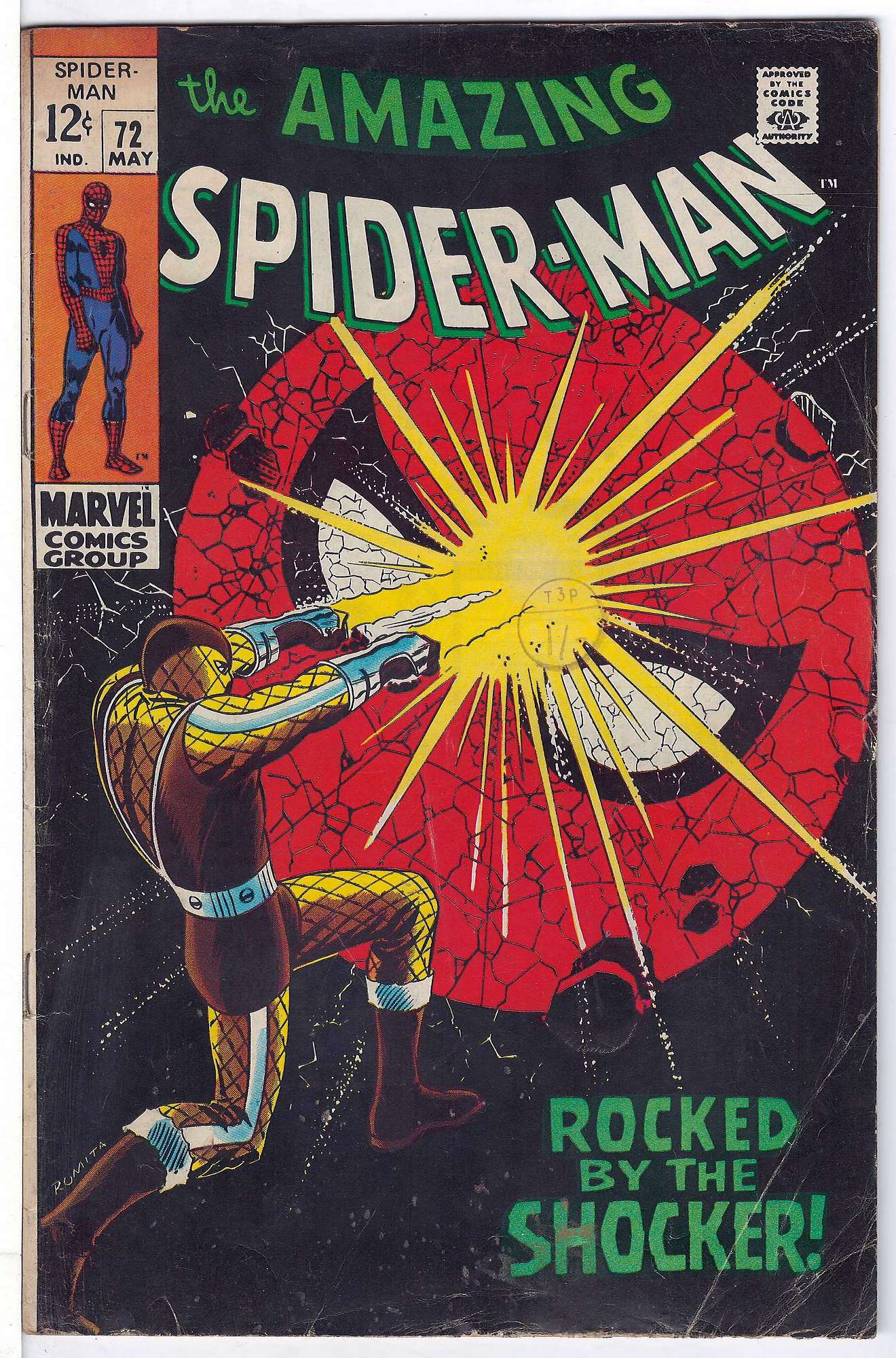 Cover of Amazing Spider-Man (Vol 1) #72. One of 250,000 Vintage American Comics on sale from Krypton!