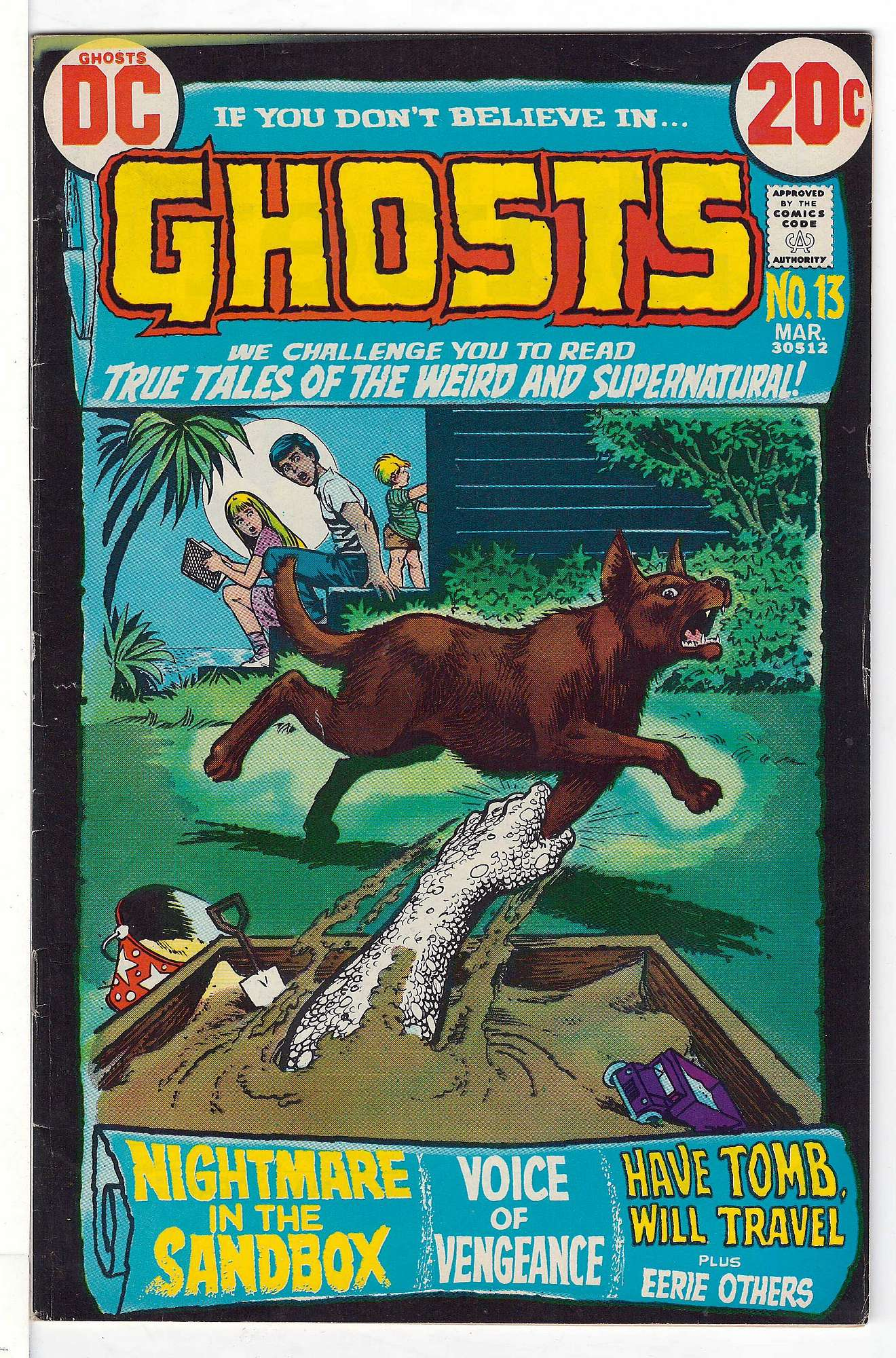 Cover of Ghosts (Vol 1) #13. One of 250,000 Vintage American Comics on sale from Krypton!