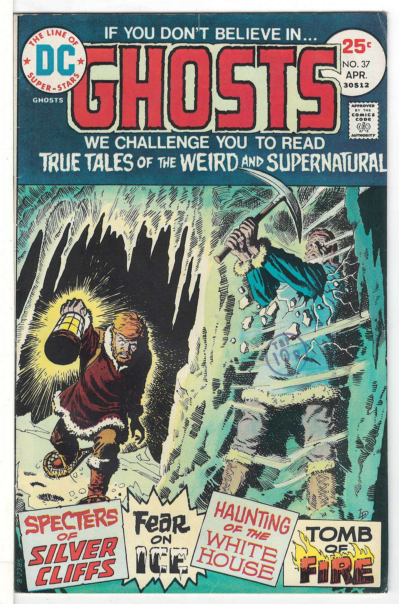 Cover of Ghosts (Vol 1) #37. One of 250,000 Vintage American Comics on sale from Krypton!