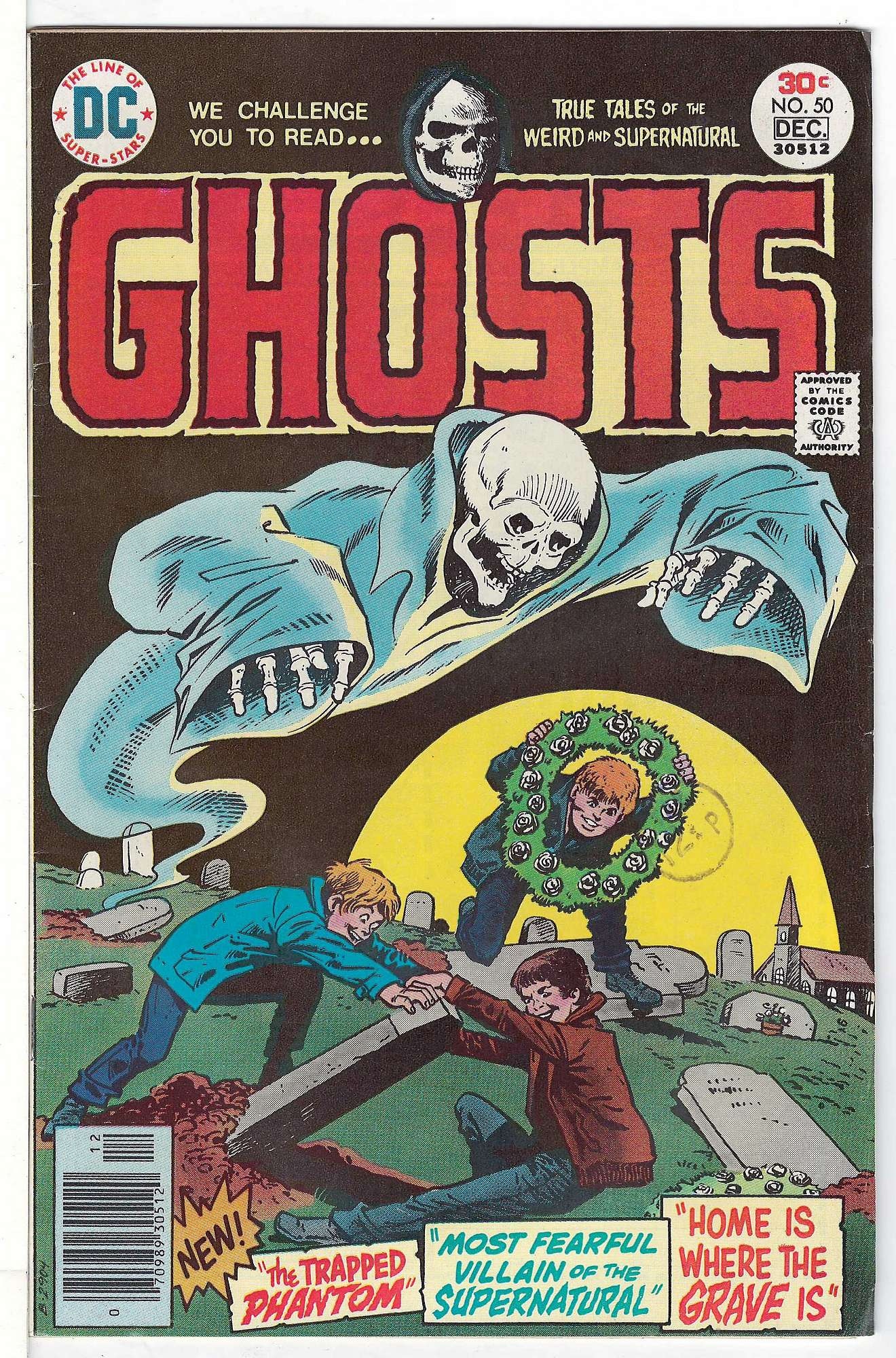 Cover of Ghosts (Vol 1) #50. One of 250,000 Vintage American Comics on sale from Krypton!