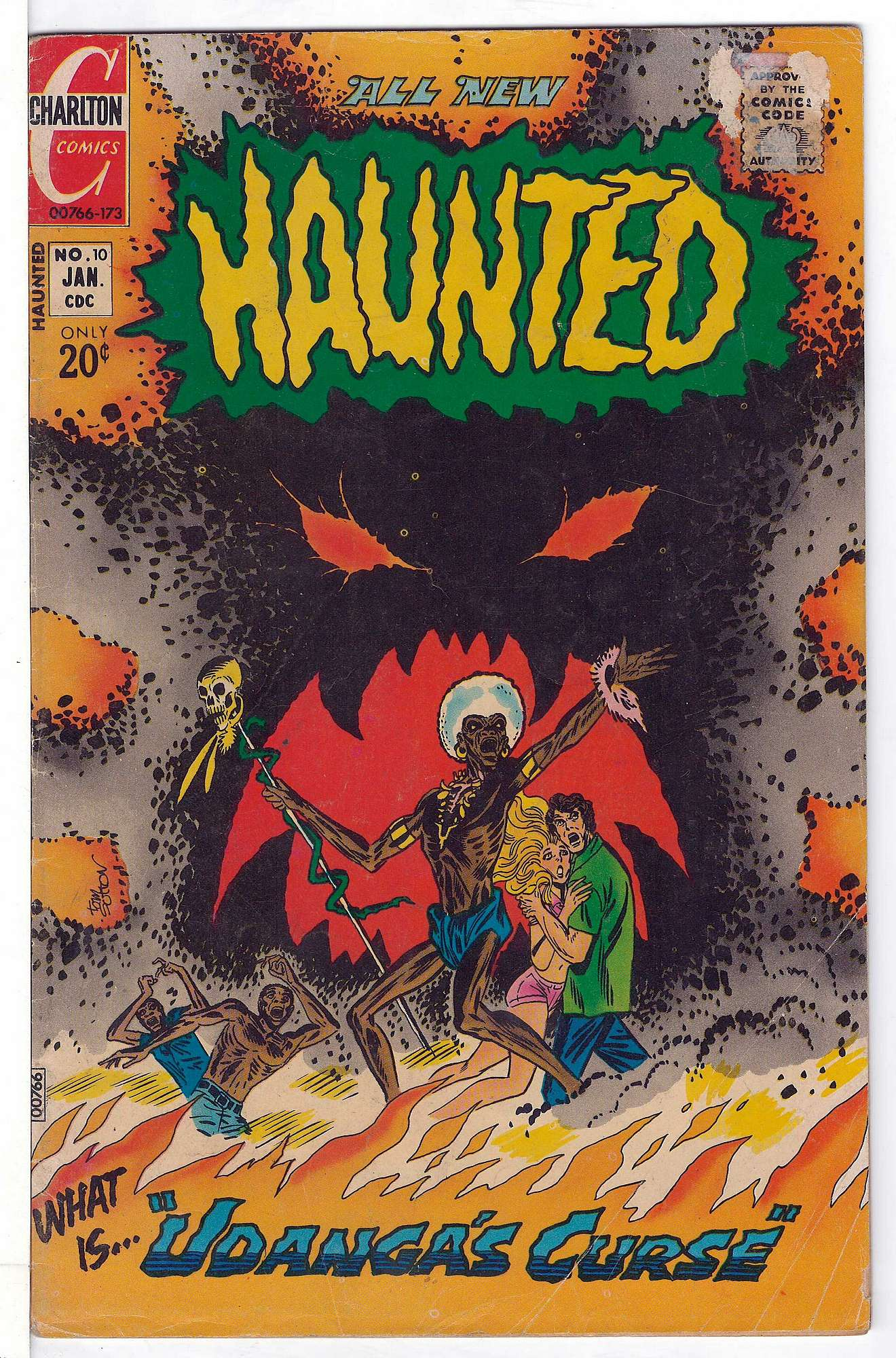 Cover of Haunted (Vol 1) #10. One of 250,000 Vintage American Comics on sale from Krypton!