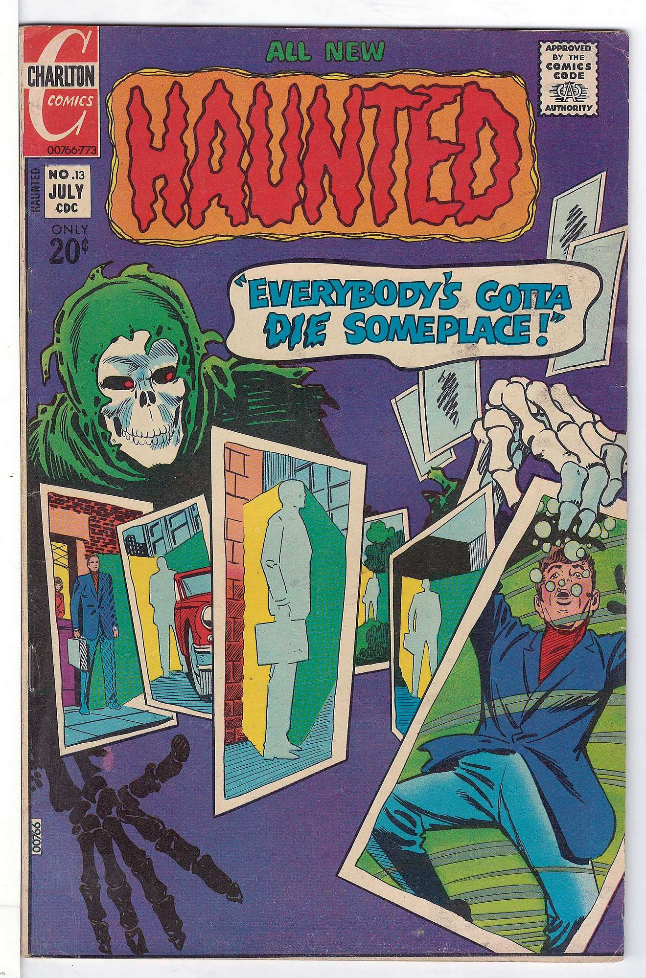Cover of Haunted (Vol 1) #13. One of 250,000 Vintage American Comics on sale from Krypton!