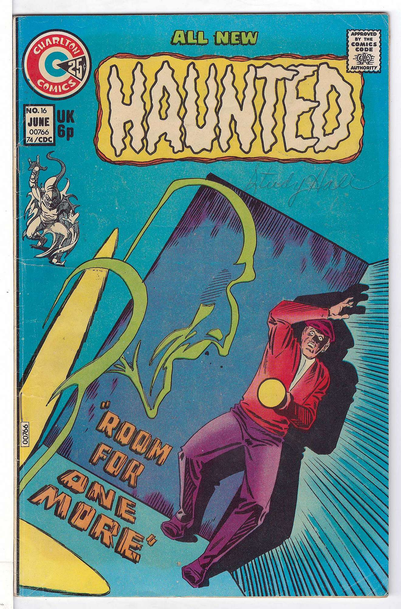 Cover of Haunted (Vol 1) #16. One of 250,000 Vintage American Comics on sale from Krypton!