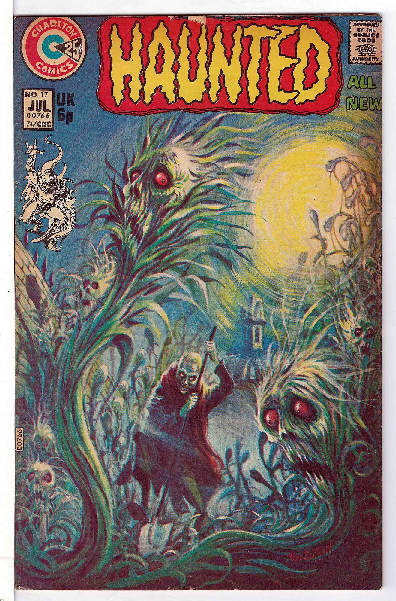 Cover of Haunted (Vol 1) #17. One of 250,000 Vintage American Comics on sale from Krypton!