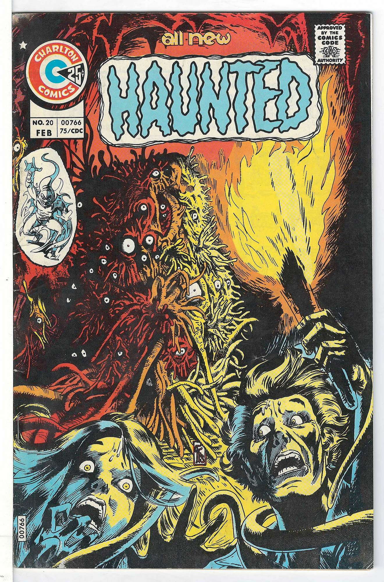 Cover of Haunted (Vol 1) #20. One of 250,000 Vintage American Comics on sale from Krypton!