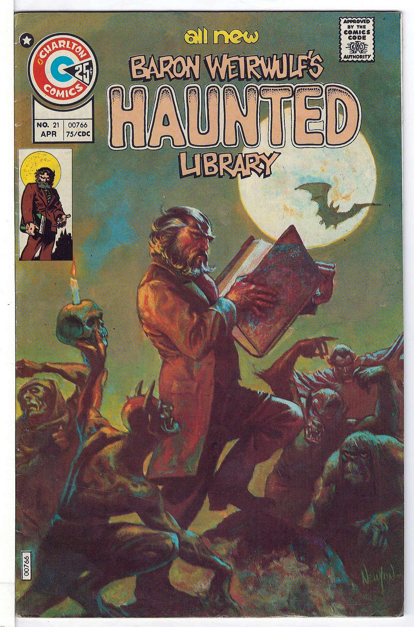 Cover of Haunted (Vol 1) #21. One of 250,000 Vintage American Comics on sale from Krypton!