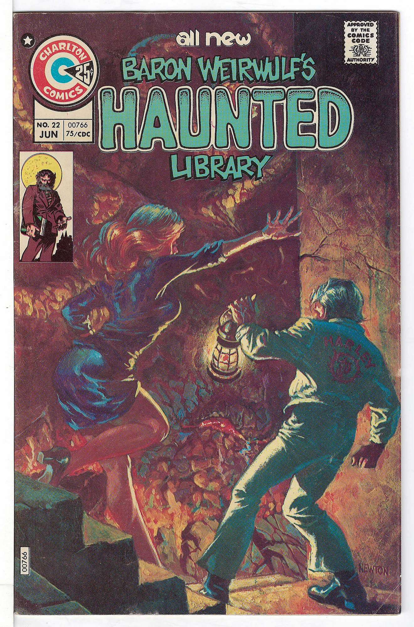 Cover of Haunted (Vol 1) #22. One of 250,000 Vintage American Comics on sale from Krypton!