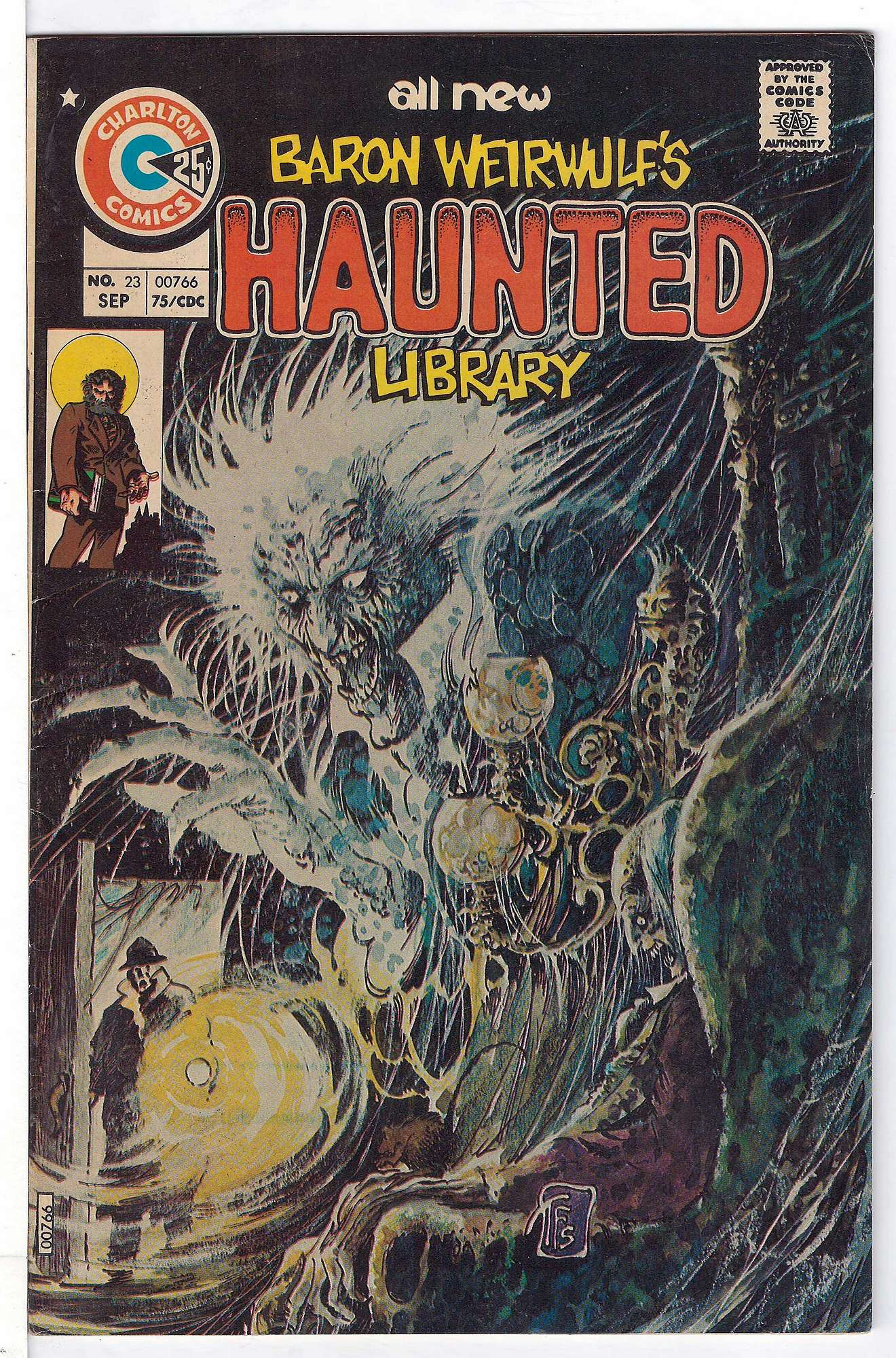 Cover of Haunted (Vol 1) #23. One of 250,000 Vintage American Comics on sale from Krypton!