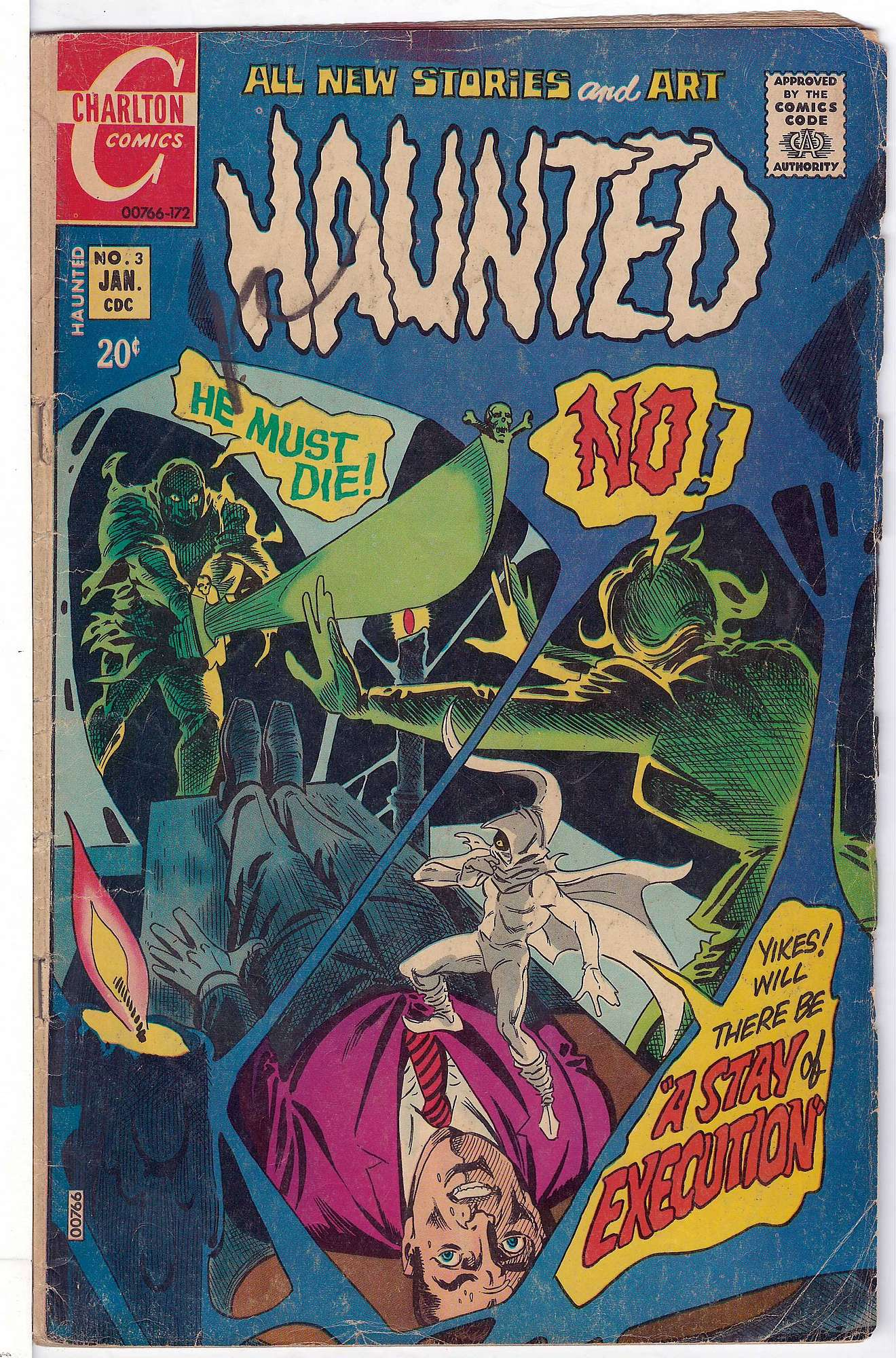 Cover of Haunted (Vol 1) #3. One of 250,000 Vintage American Comics on sale from Krypton!