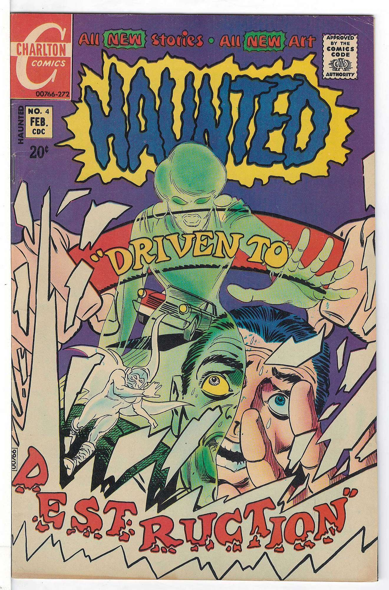 Cover of Haunted (Vol 1) #4. One of 250,000 Vintage American Comics on sale from Krypton!