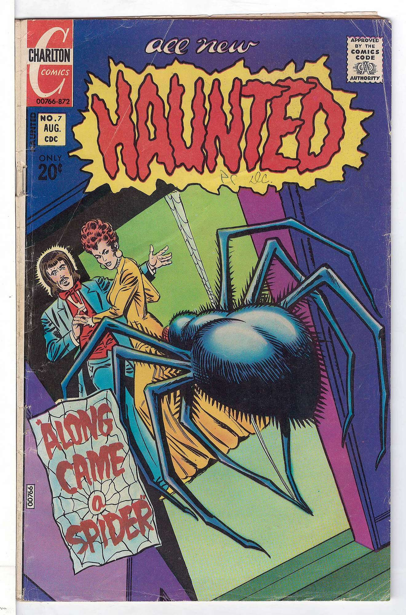 Cover of Haunted (Vol 1) #7. One of 250,000 Vintage American Comics on sale from Krypton!