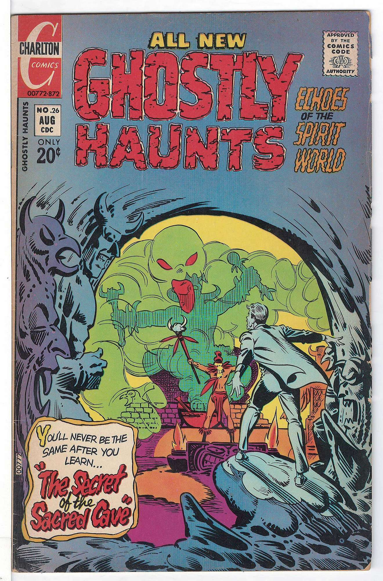 Cover of Ghostly Haunts (Vol 1) #26. One of 250,000 Vintage American Comics on sale from Krypton!
